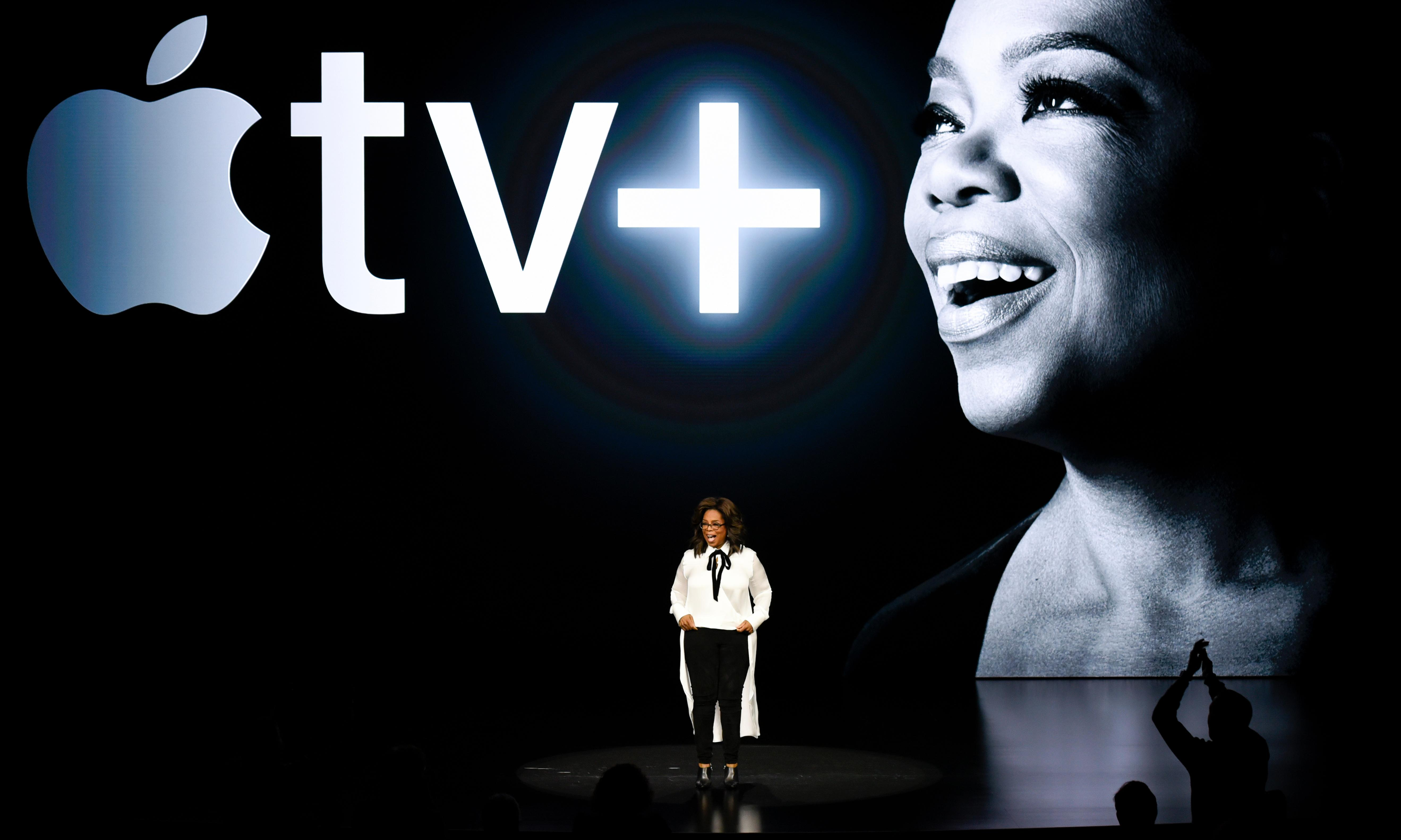 Apple unveils TV subscription service with help from Oprah Winfrey