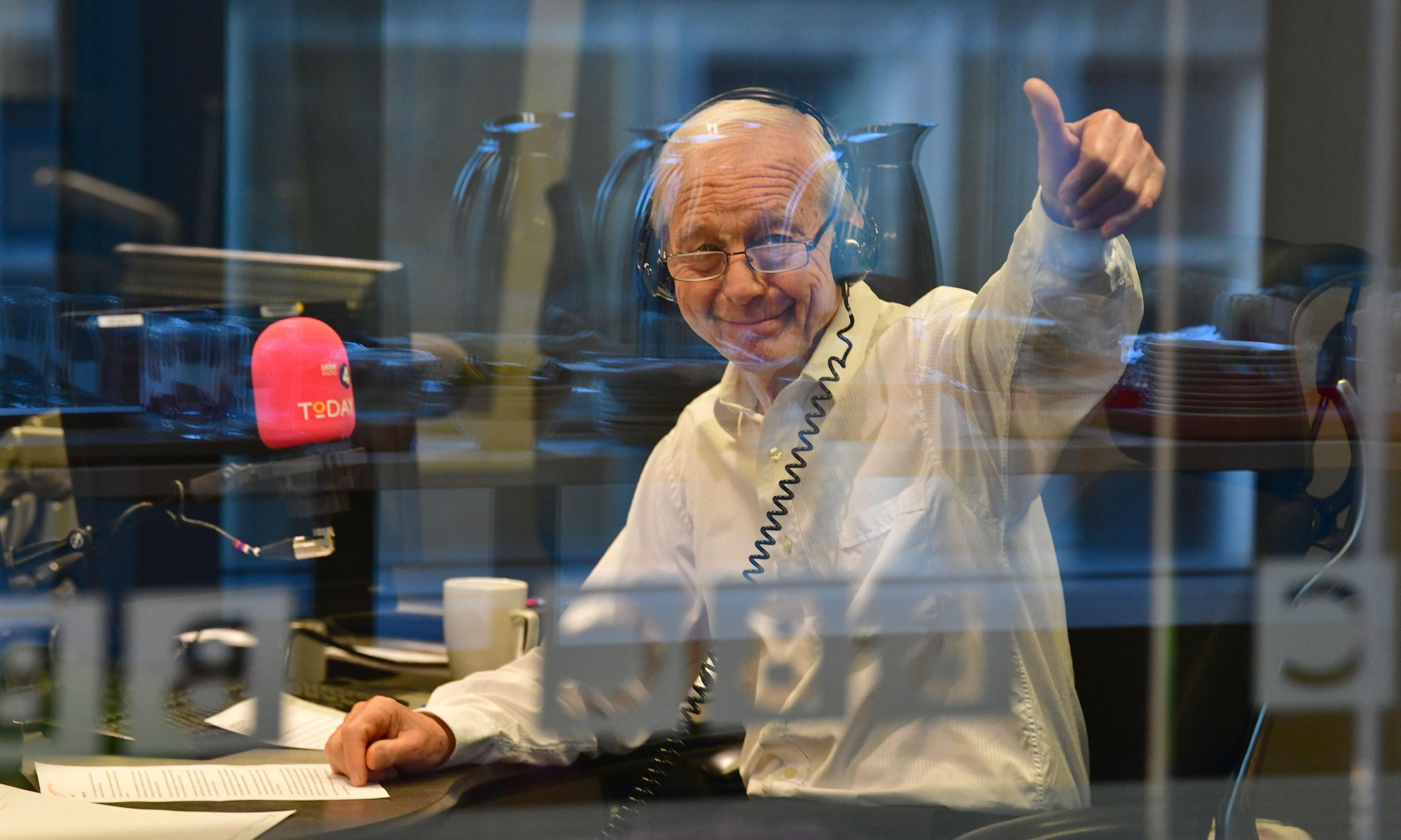 John Humphrys ends Today career with swipe at Corbyn and Johnson