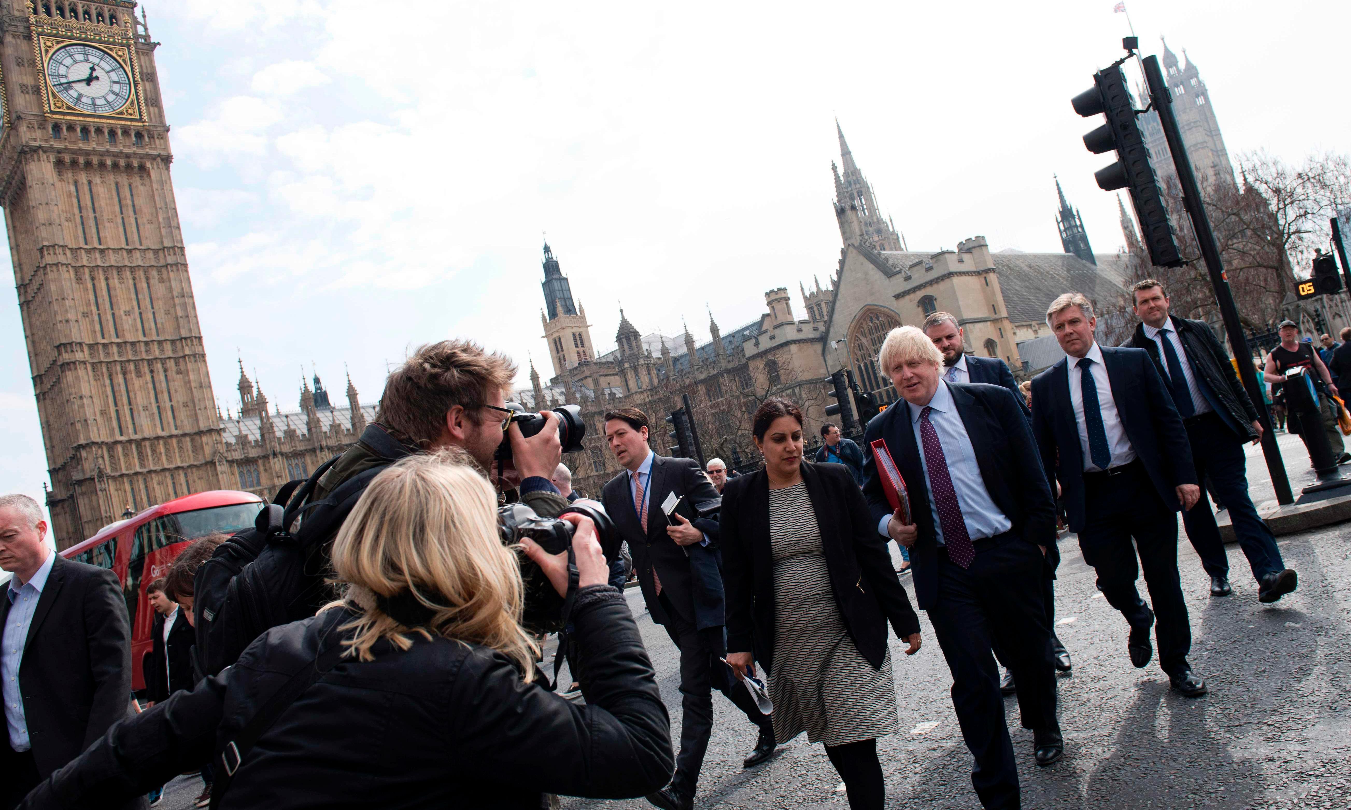Boris Johnson's Big Ben Brexit bong plan falls flat