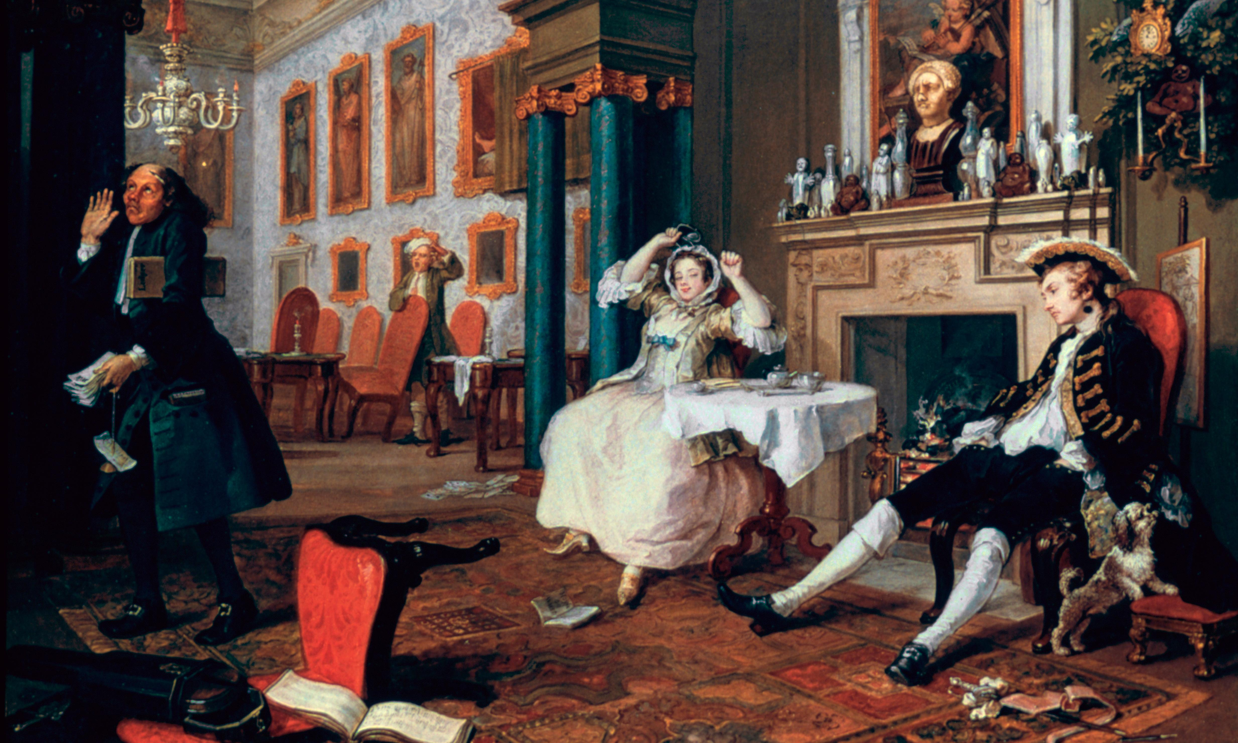 Gin, syphilis, lunacy: Hogarth's grotesques united in new show