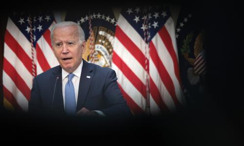 Biden knows fate of spending plan will show extent of his power – and define his legacy