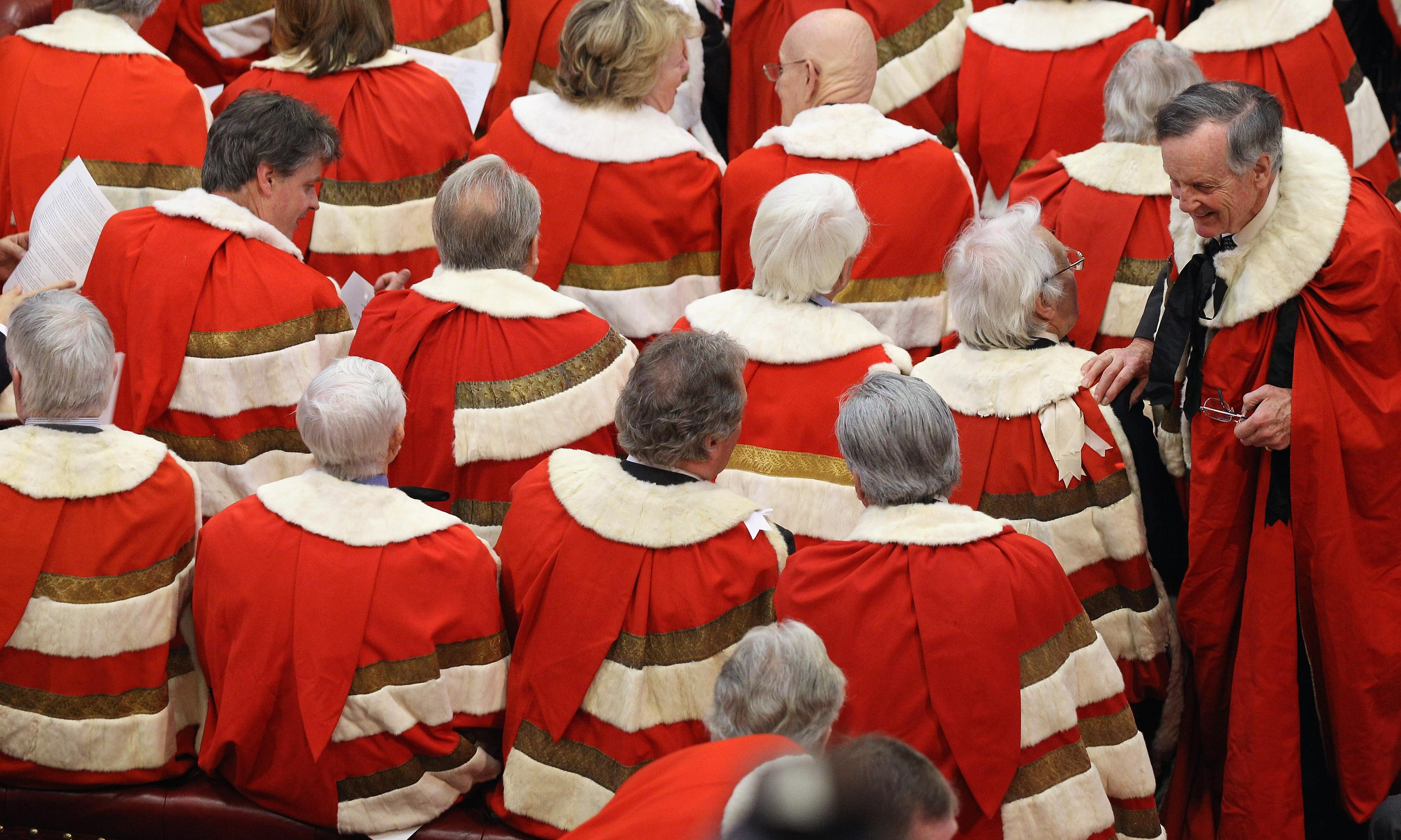 Cronyism making a mockery of the Lords