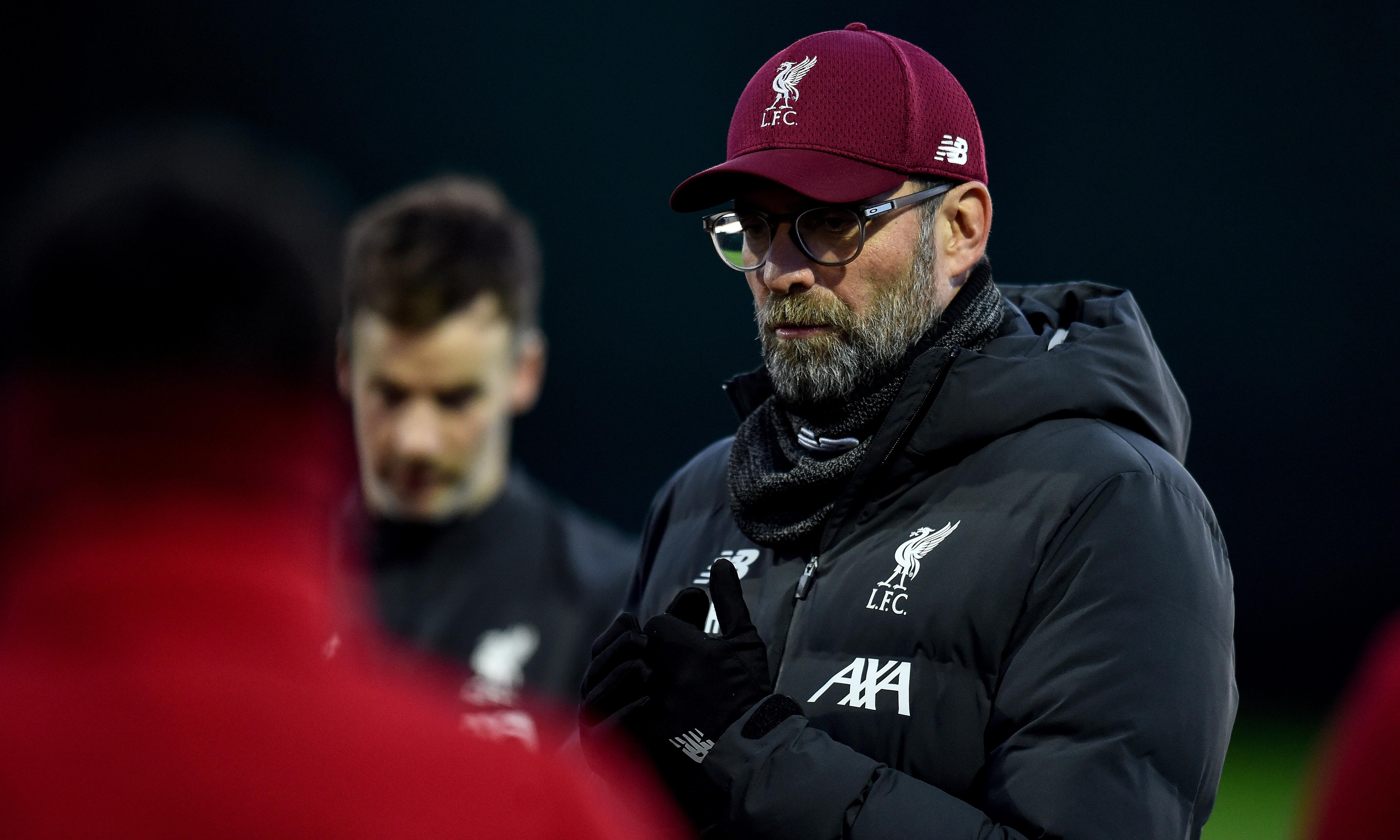 Klopp ready for Liverpool's 'biggest game' against Manchester United