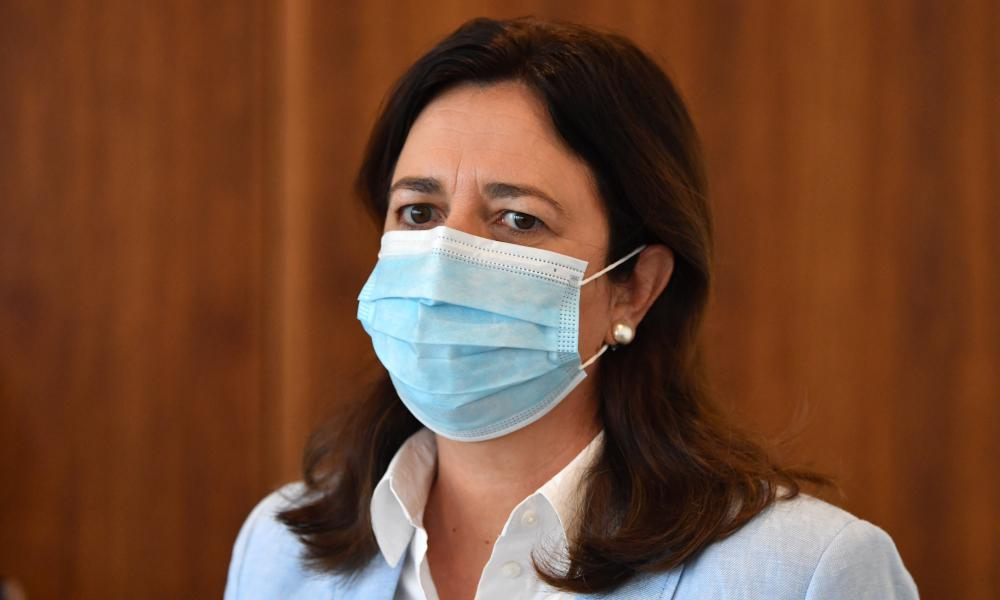 Queensland premier Annastacia Palaszczuk is delighted with the number of people getting tested.