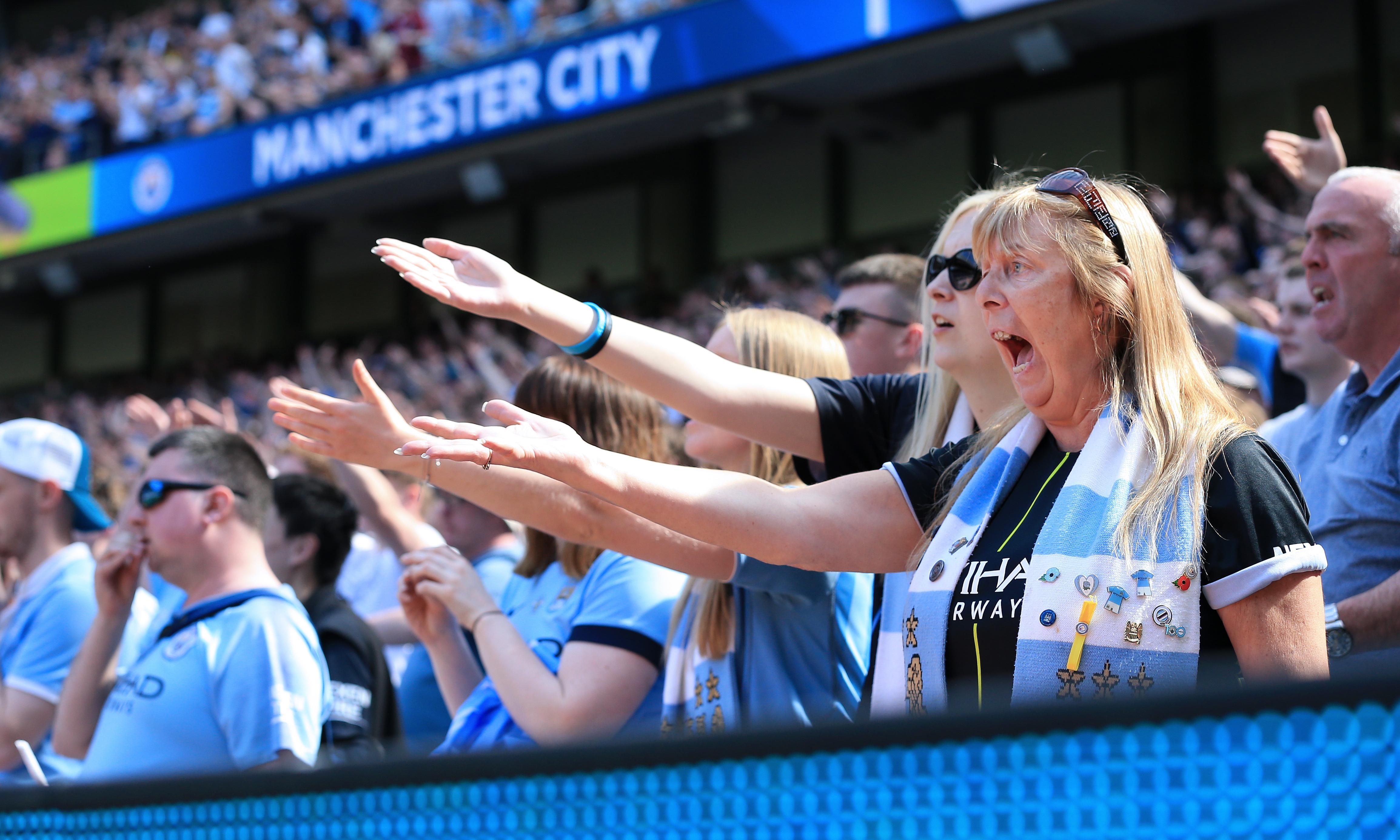 Manchester City machine creaks under pressure but title a step closer