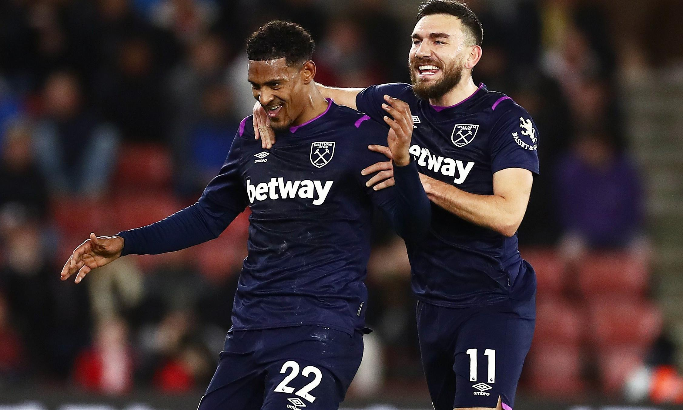 Sébastien Haller fires West Ham to crucial victory over Southampton
