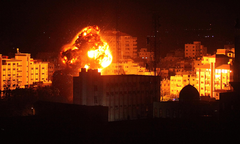 Israeli military bombs Gaza after rocket strike