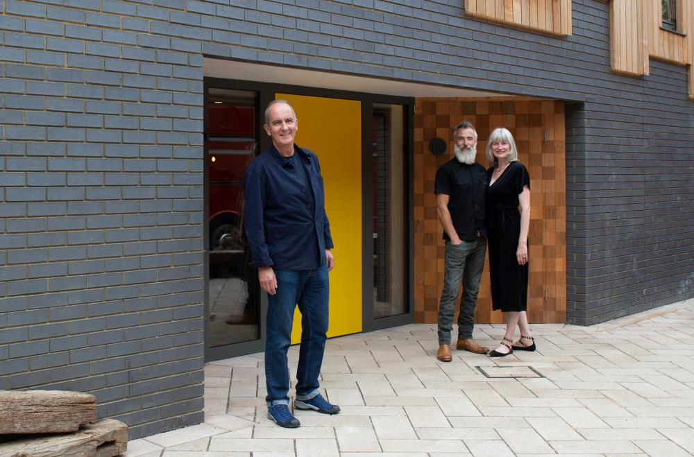 McCloud with two contributors from Grand Designs' 20th series.