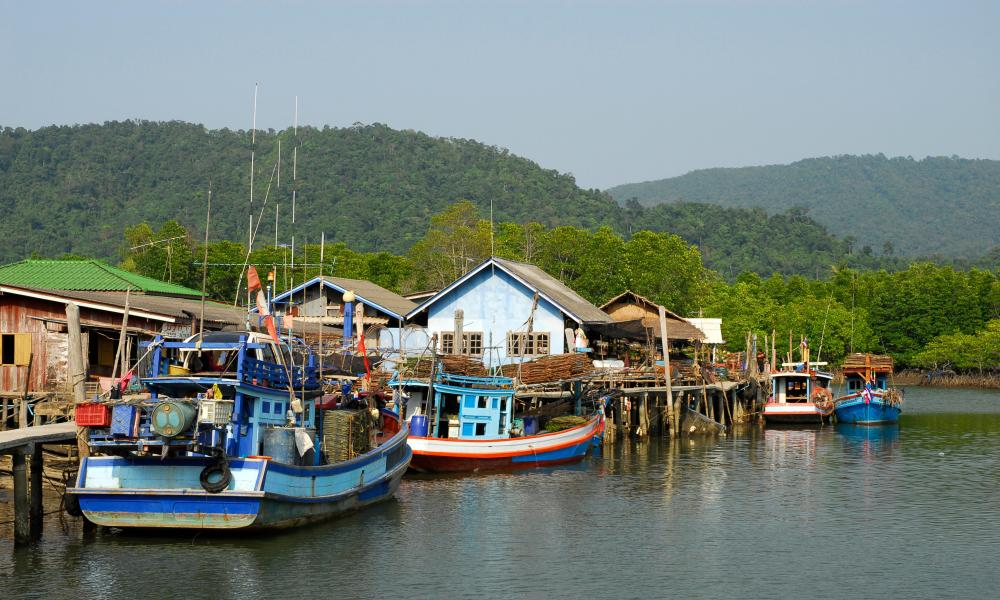 Salak Phet bay, Koh Chang, Thailand.