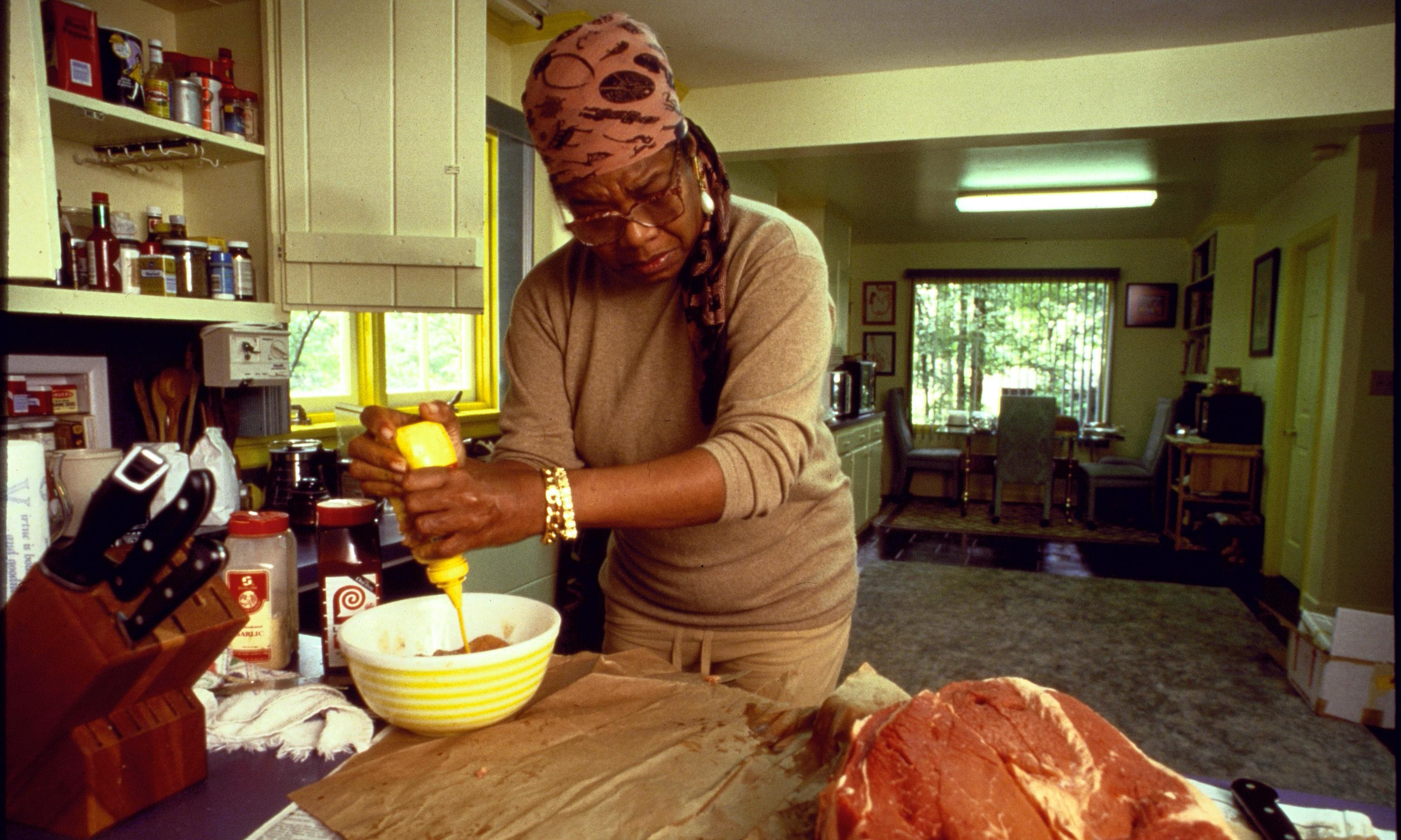 Frozen in time: Maya Angelou cooks for Toni Morrison, September 1994