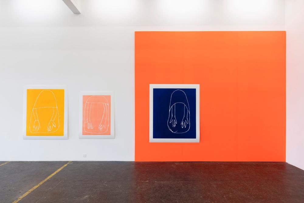Andrea Büttner's Gesamtzusammenhang Kunst Halle Sankt Gallen, Switzerland, 2017.