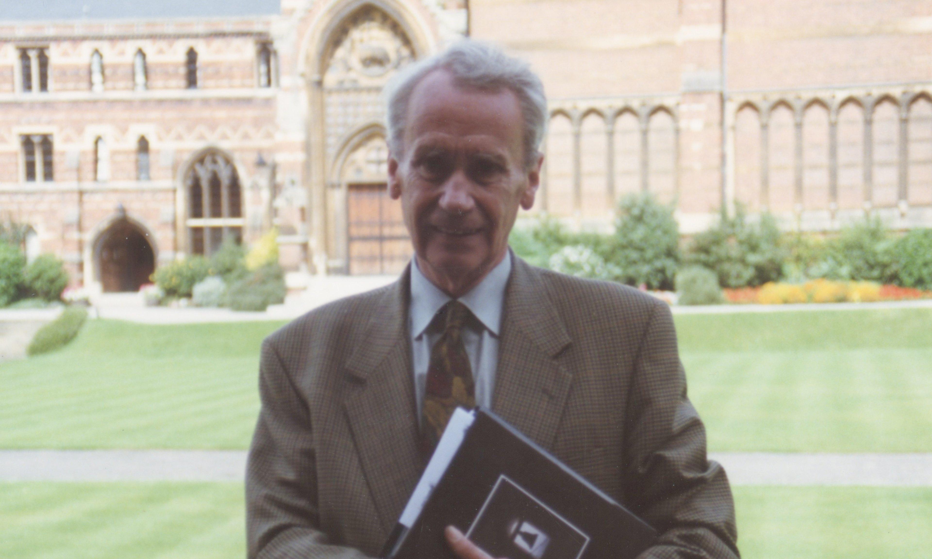 JRR Tolkien's son Christopher dies aged 95