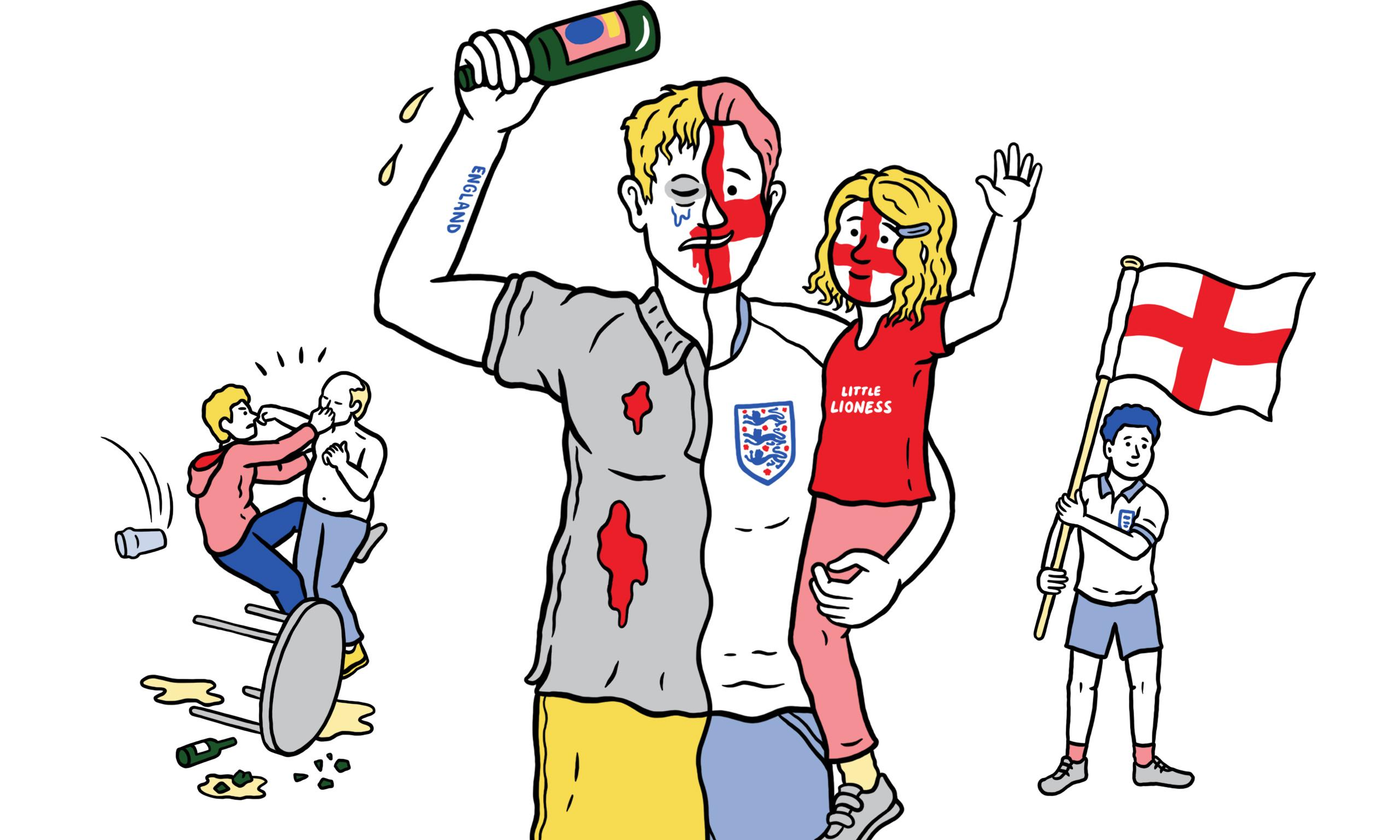 England trips are being co-opted by the right but football has resisted before