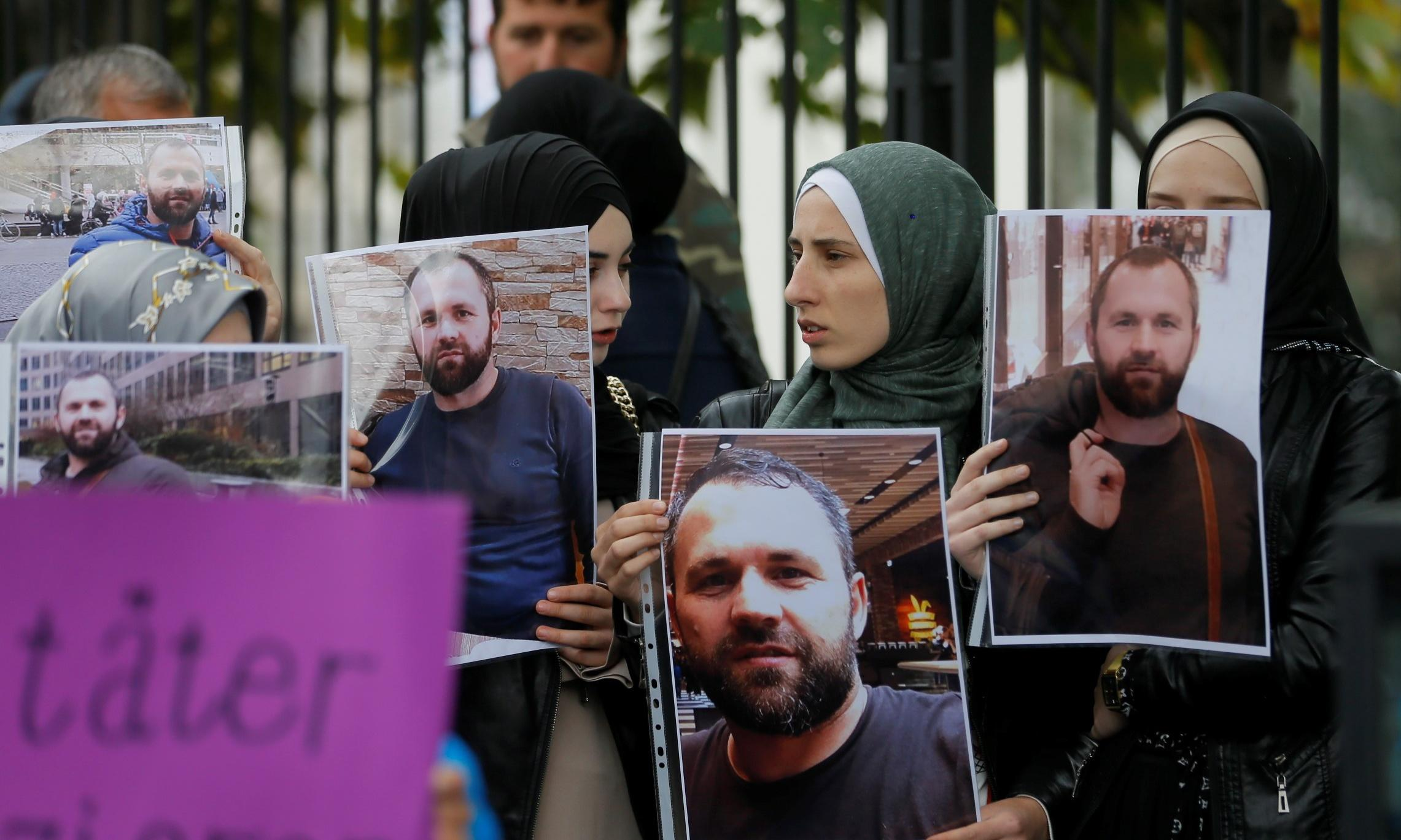Russian suspect stays silent over Chechen's killing in Berlin