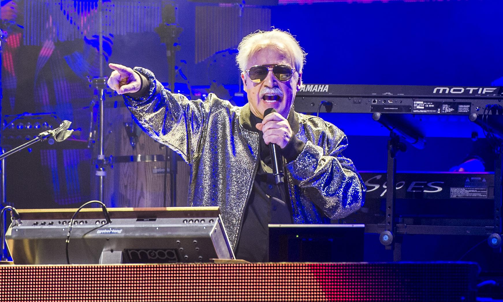 Giorgio Moroder review – cheesy cabaret doesn't take the breath away