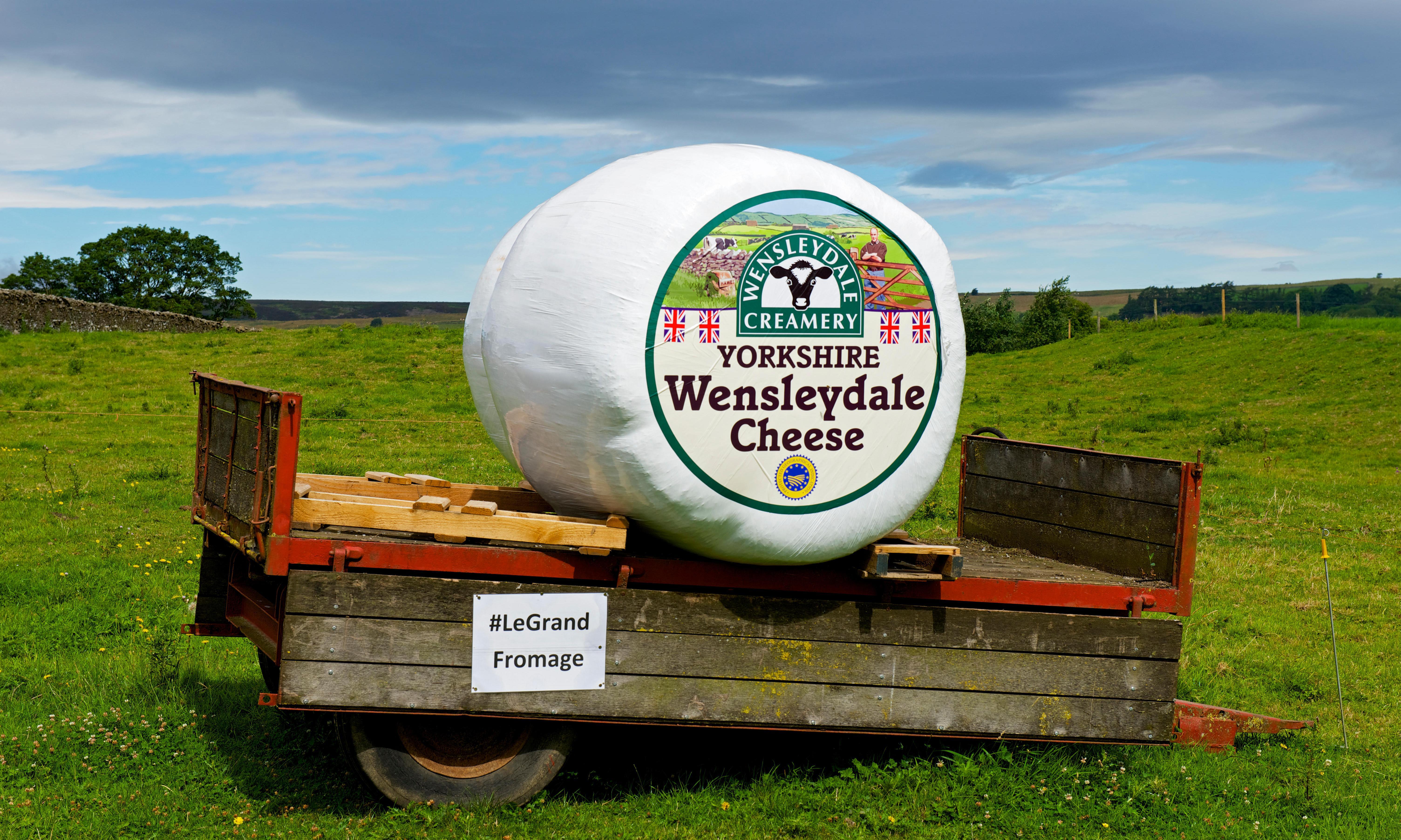 Cracking cheese, Gromit! Wensleydale waste to heat 4,000 homes