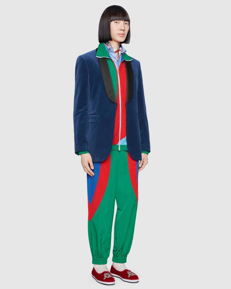 Does Gucci's £1,800 shell suit signal the return of the 1980s' worst look?