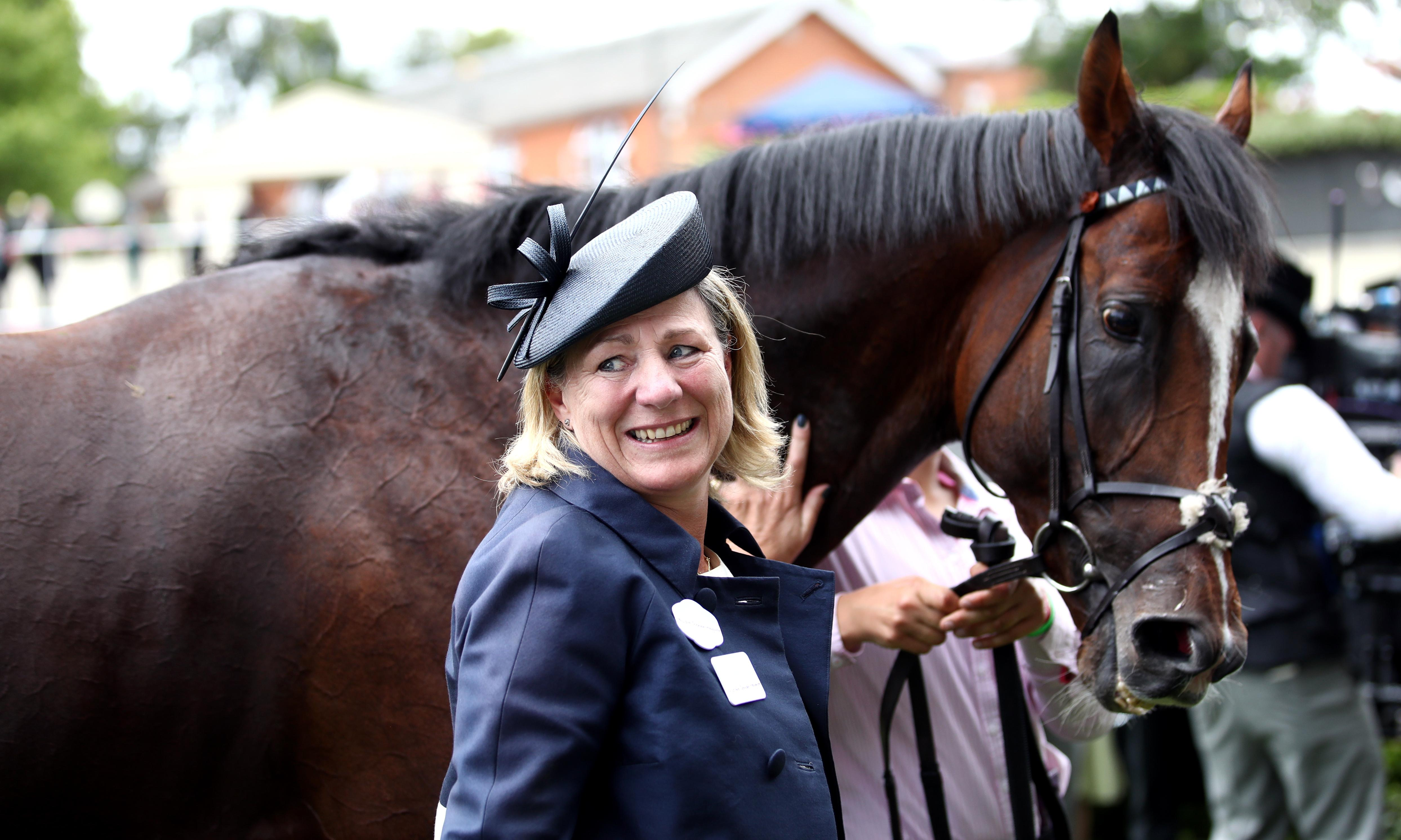 Eve Johnson Houghton convinced lightning can strike twice at Ascot