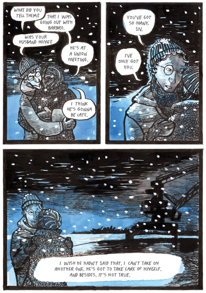 A page from Red Winter.