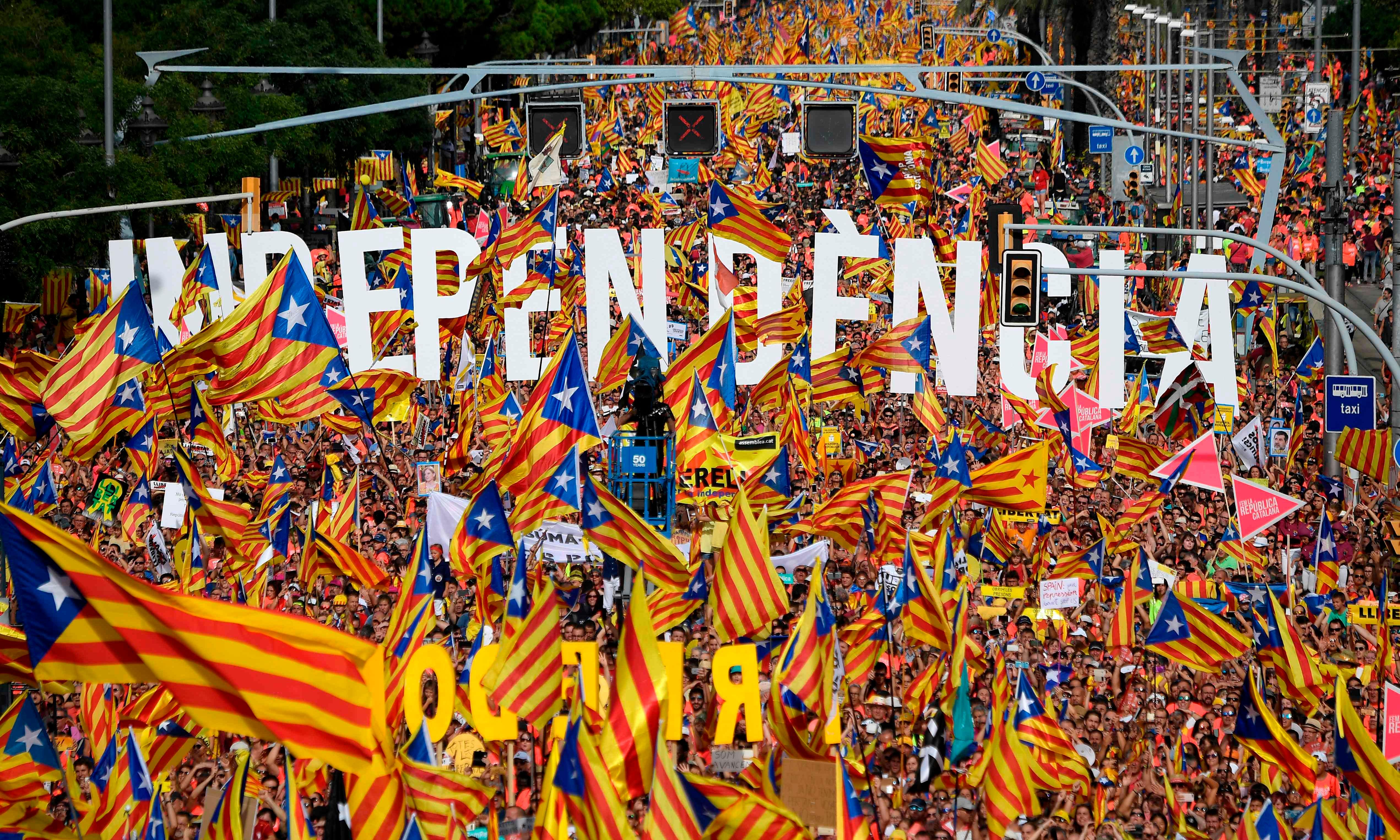 The key figures in the push for Catalan independence