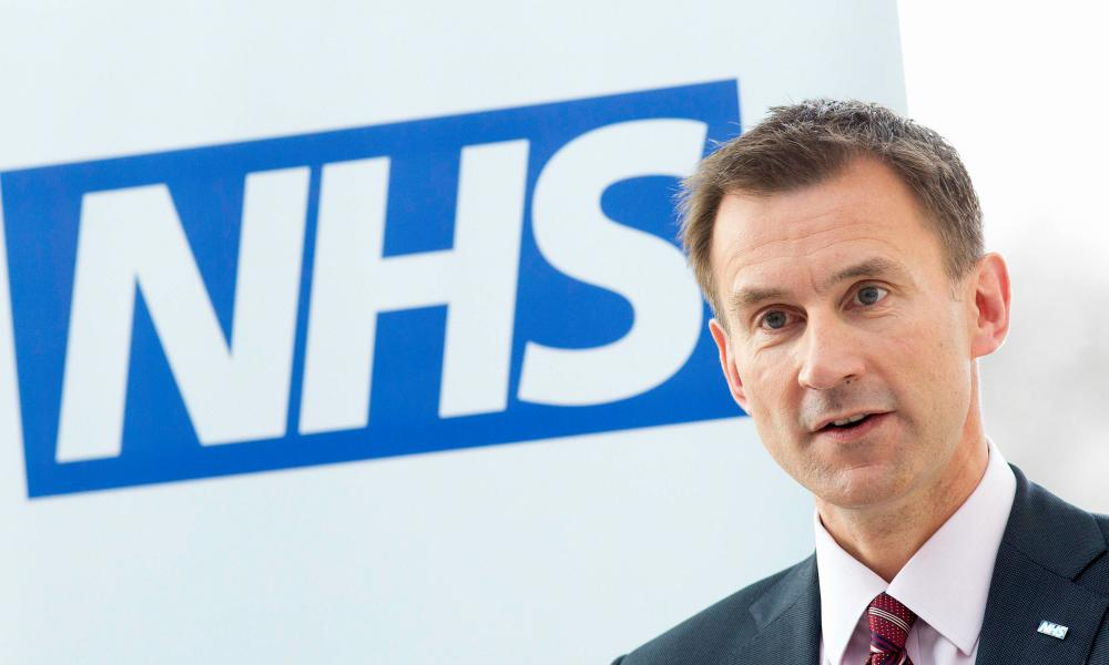 Health Secretary Jeremy Hunt, who could impose a new contract on junior doctors