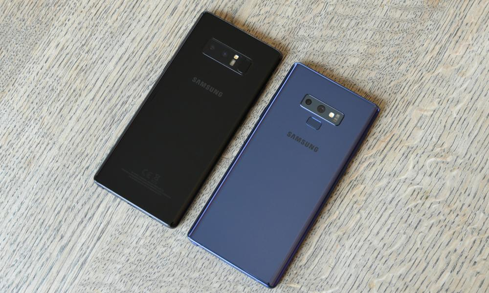 Samsung Galaxy Note 9 examen