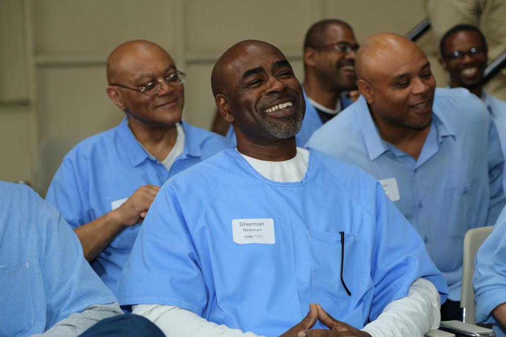 Inmates part of The Last Mile program