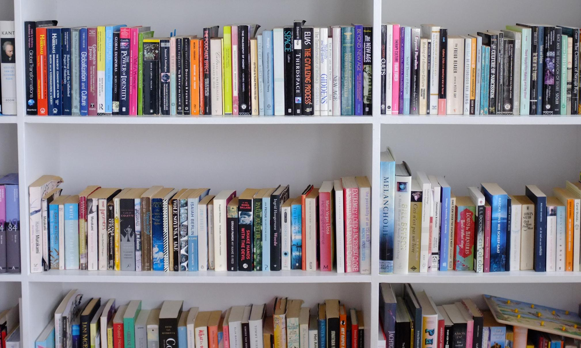 What we gain from keeping books – and why it doesn't need to be 'joy'