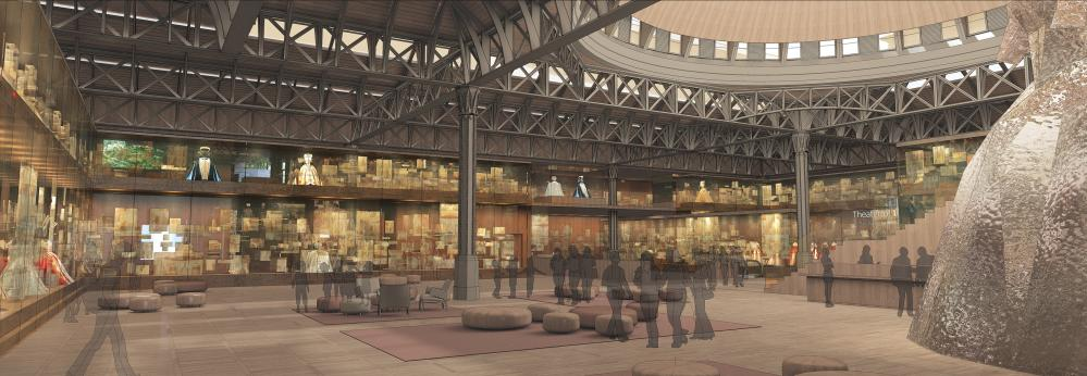 Museum of London designs ... Studio Milou Architecture (FR) with RL&Associés, Axis Architects and Alan Baxter Associates.