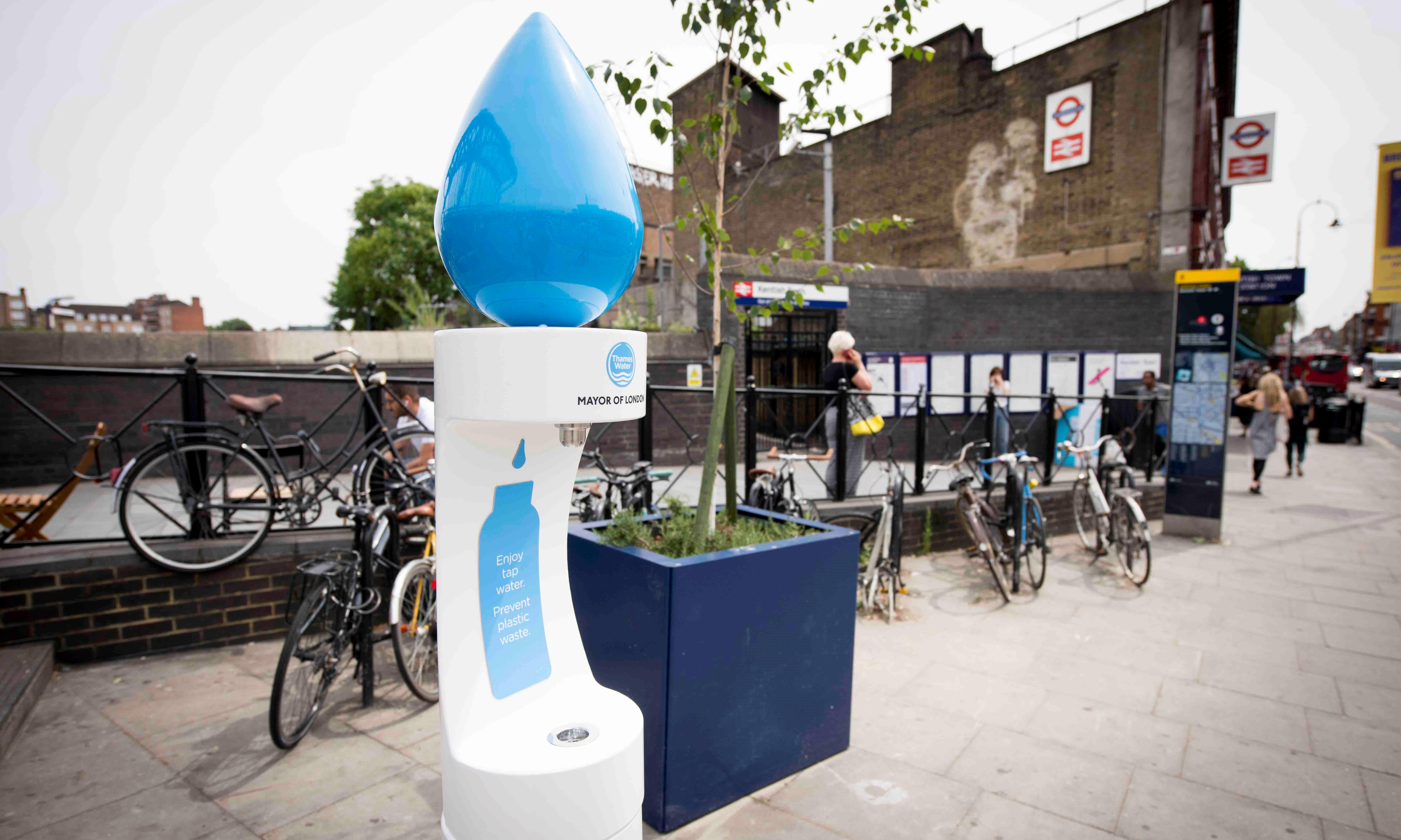 Locations of 50 new London water fountains revealed