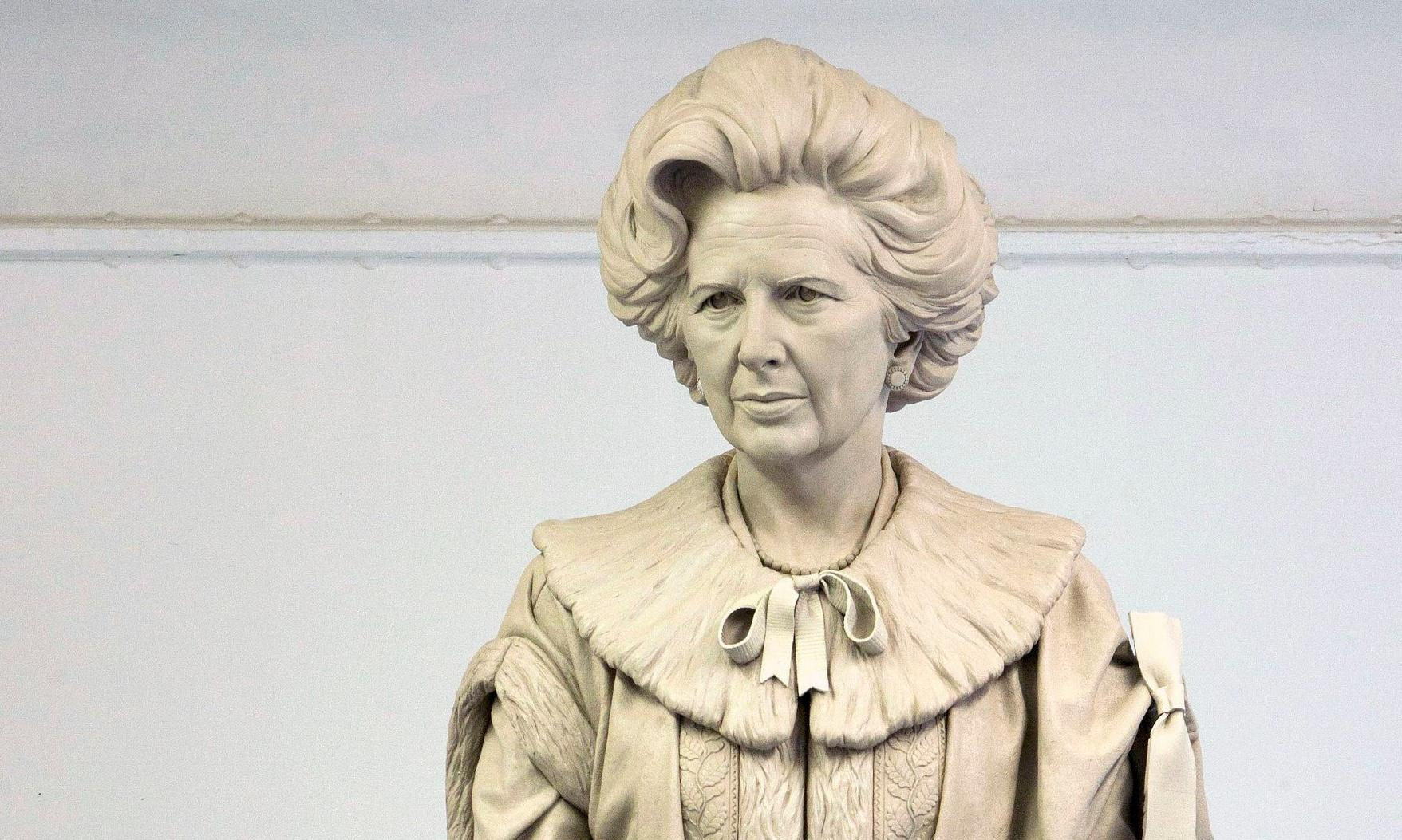 A statue of Thatcher? No plinth will be too high for the vandals