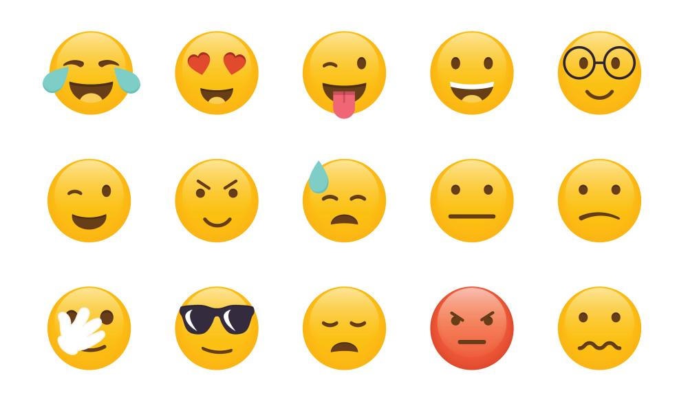 How are you feeling? Emojis offer a visual shorthand.