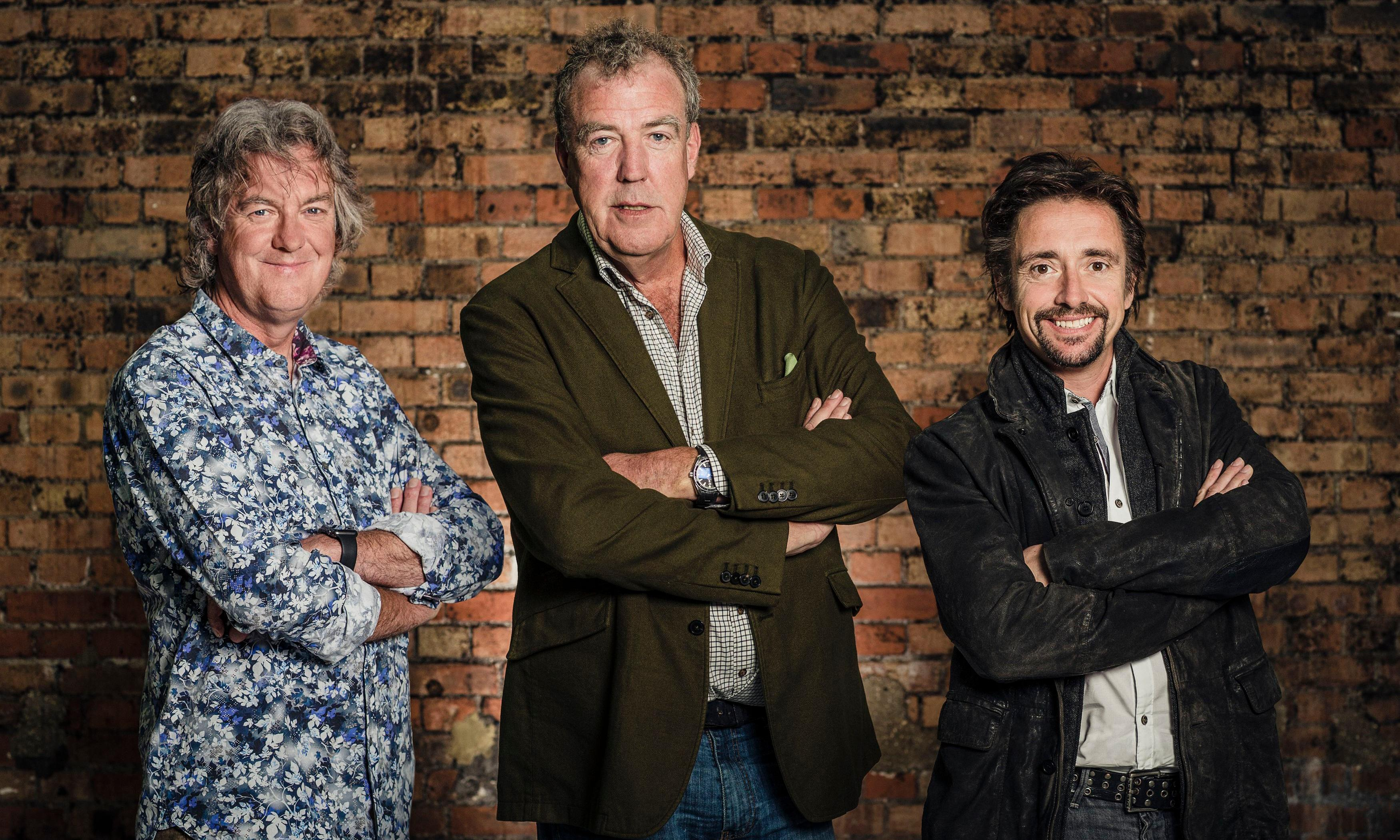 Former Top Gear stars' firm nets £7.6m profit from Amazon show