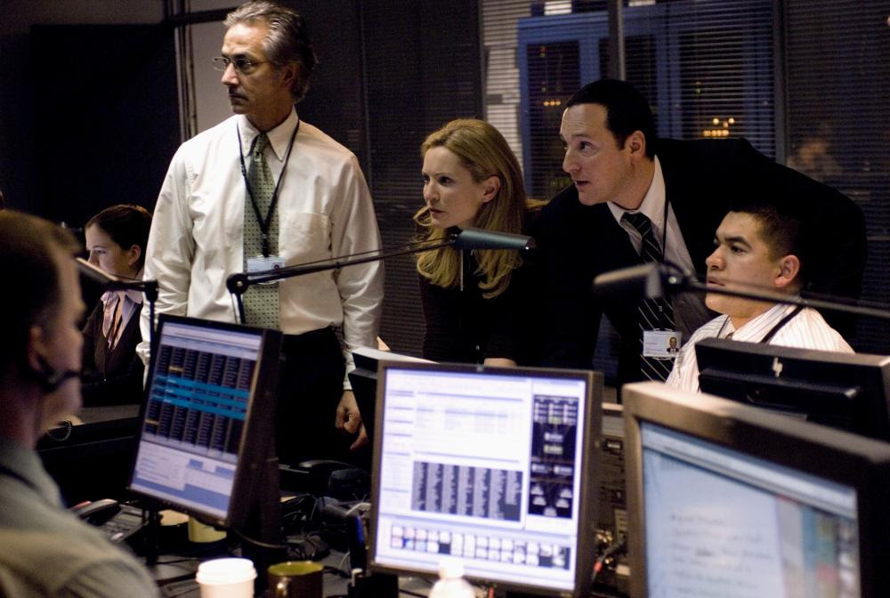 Blockbuster … as CIA handler Pamela Landy in The Bourne Ultimatum.