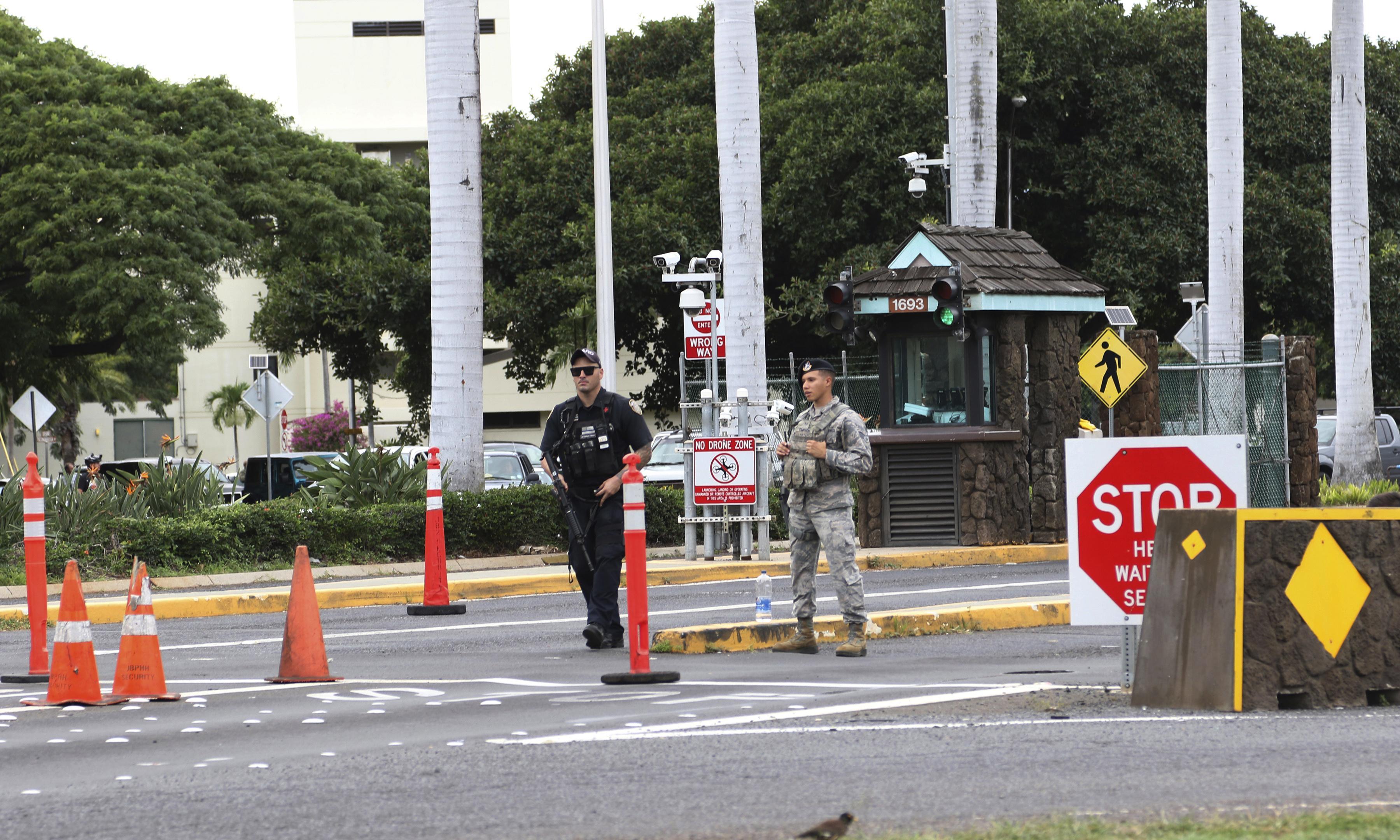 Pearl Harbor shooting: US sailor kills two civilians and injures third at military base
