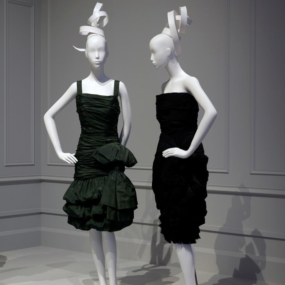 Yves Saint Laurent was only at Dior for six couture seasons.