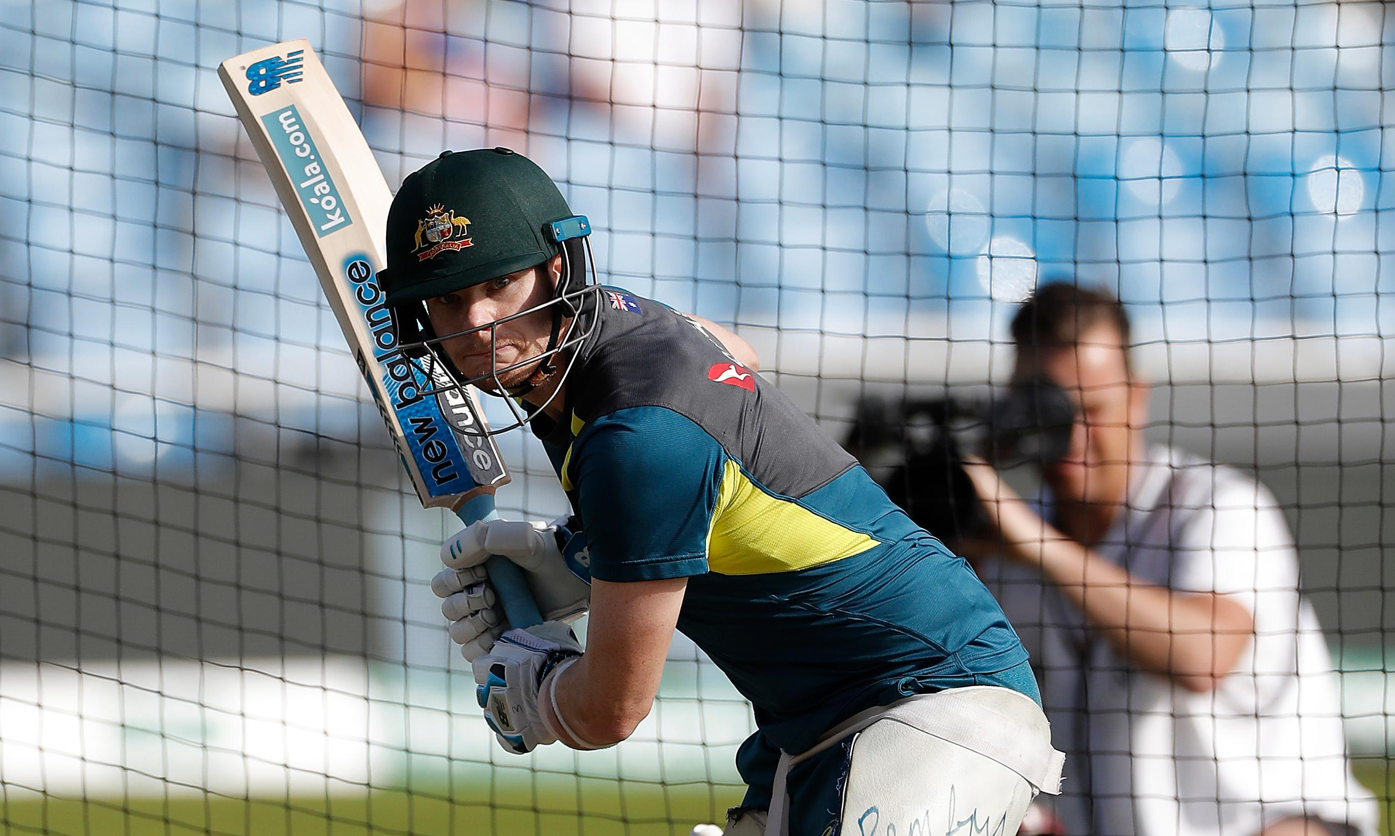 Steve Smith to play for Australia against Derbyshire after returning to nets