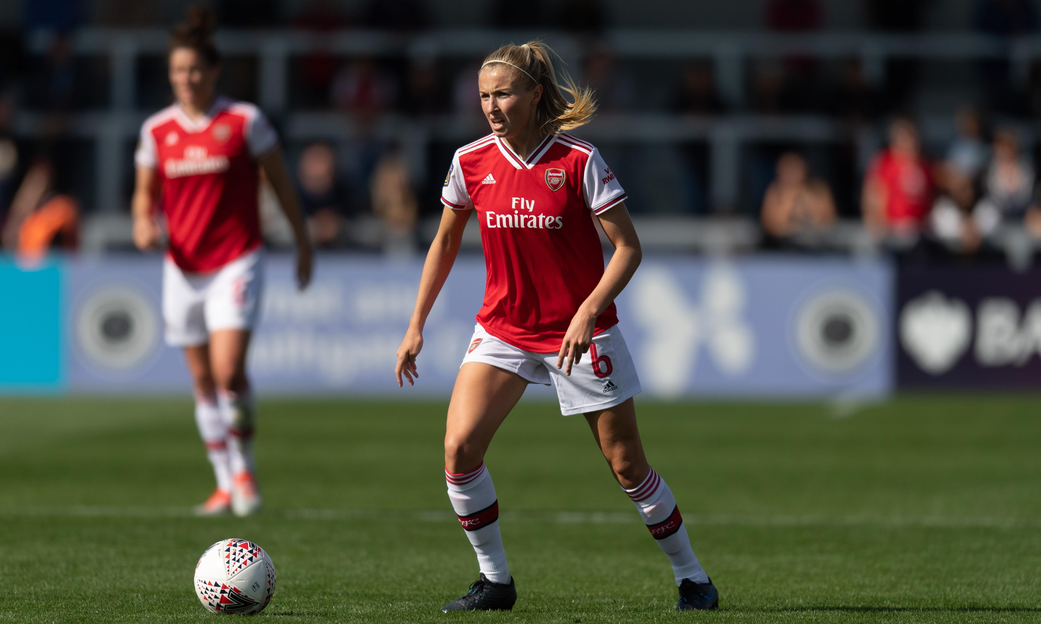 Leah Williamson goes back to the future with Arsenal in Champions League