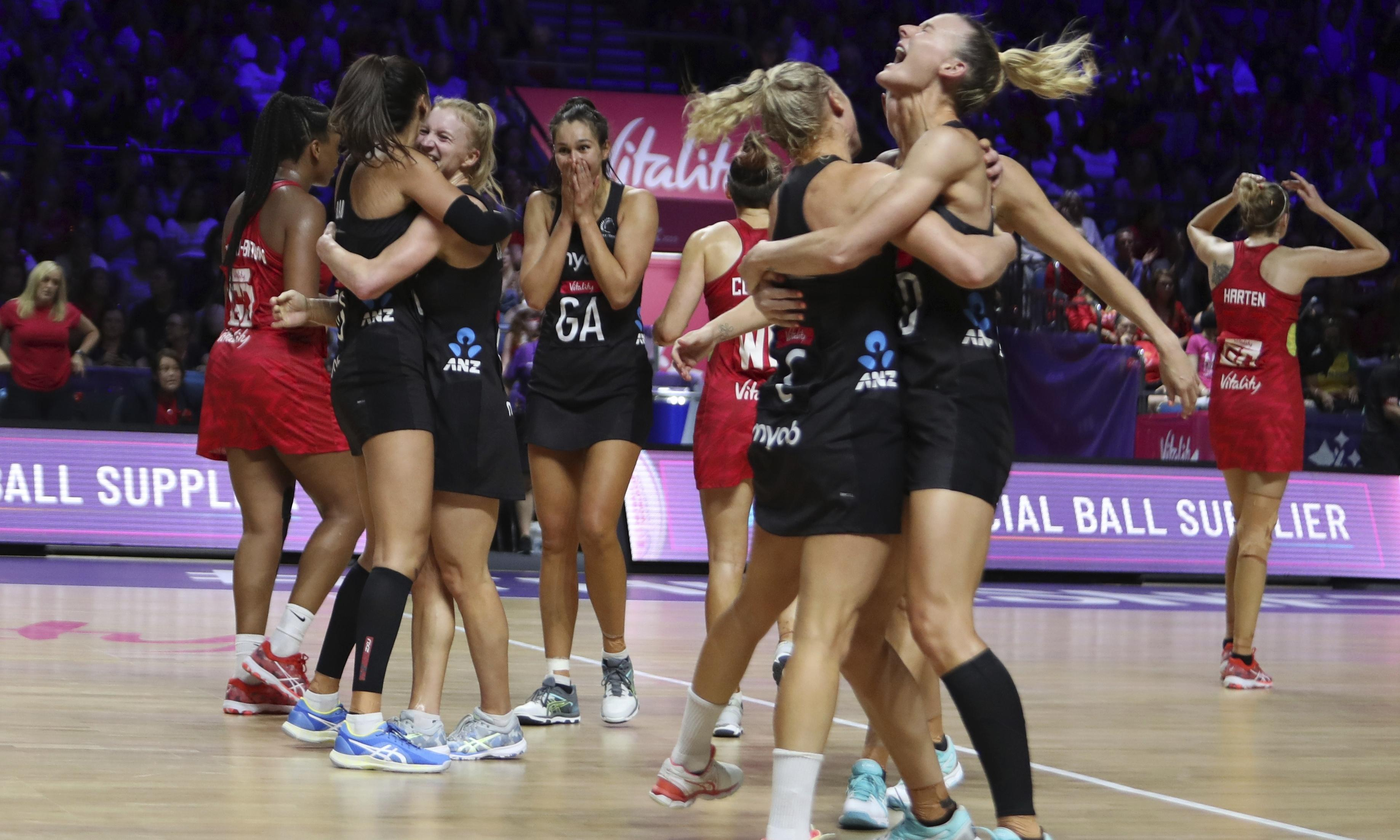 New Zealand hold off England to reach Netball World Cup final