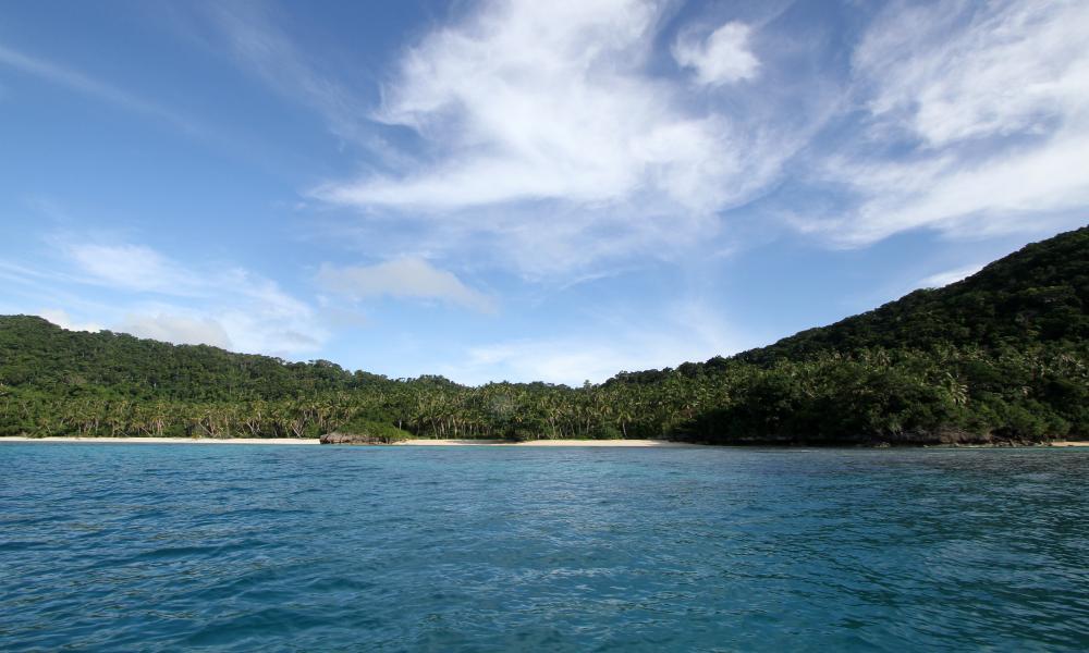 Fiji. Vanua Balavu