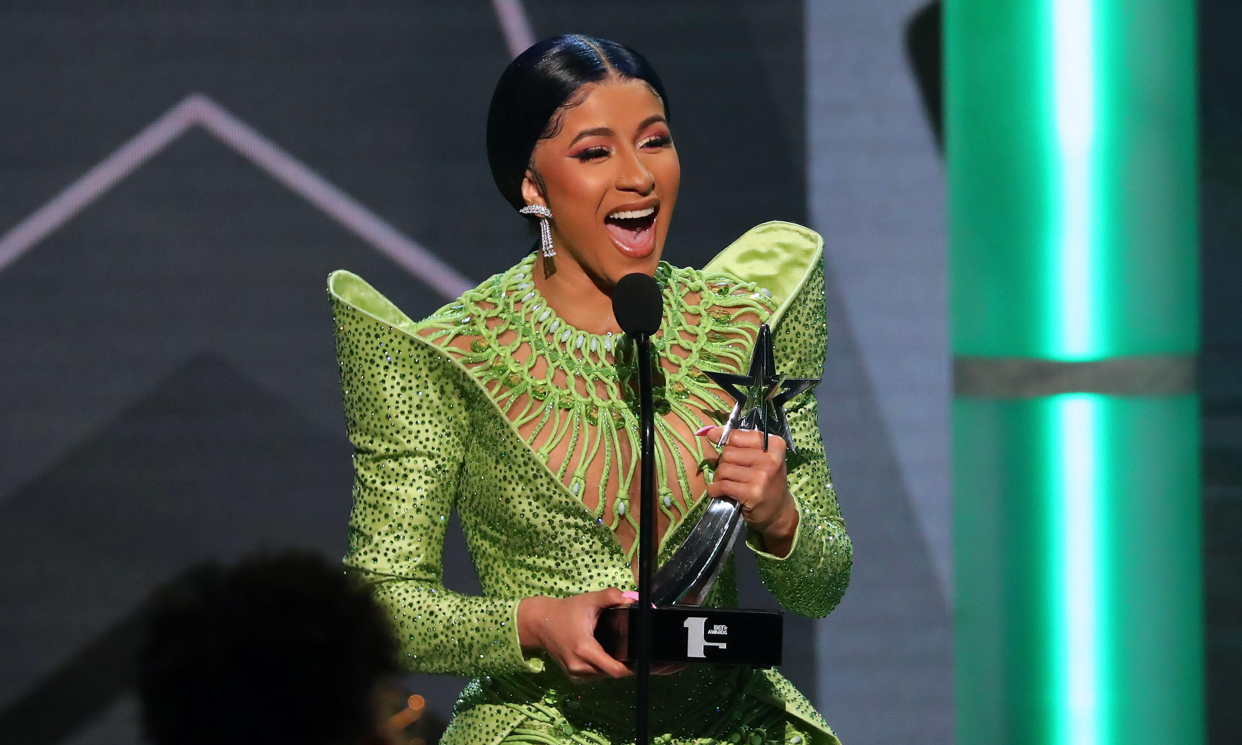 Cardi B and Nipsey Hussle top 2019 BET award winners