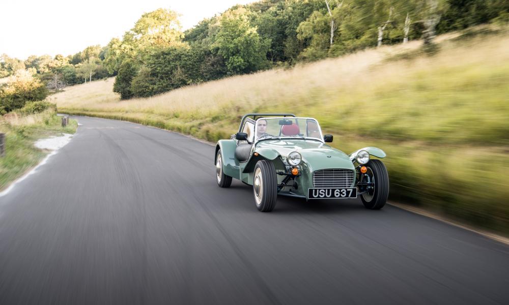 Thrill seeker: the Caterham Seven Sprint