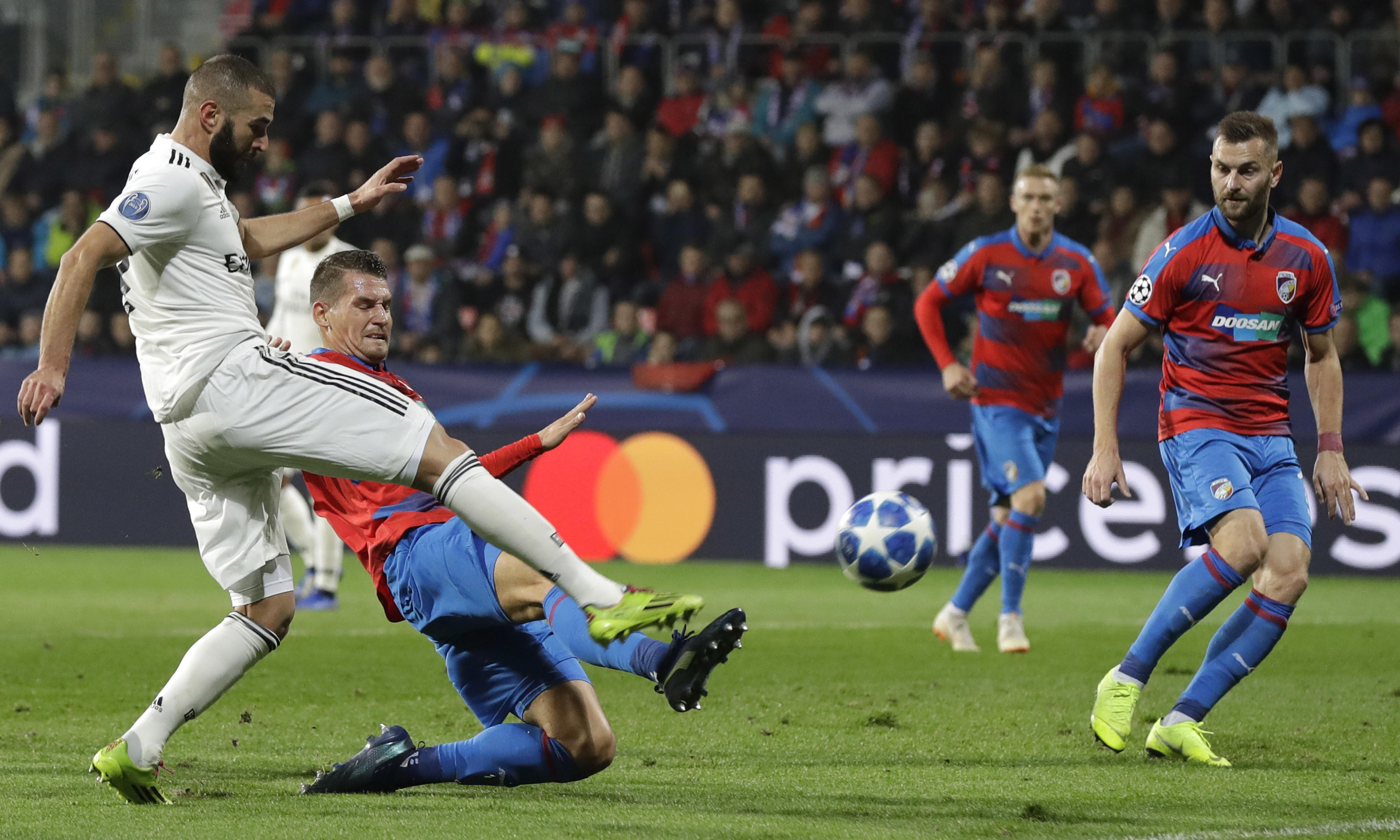 Champions League: Real Madrid thrash Plzen, 10-man Hoffenheim deny Lyon