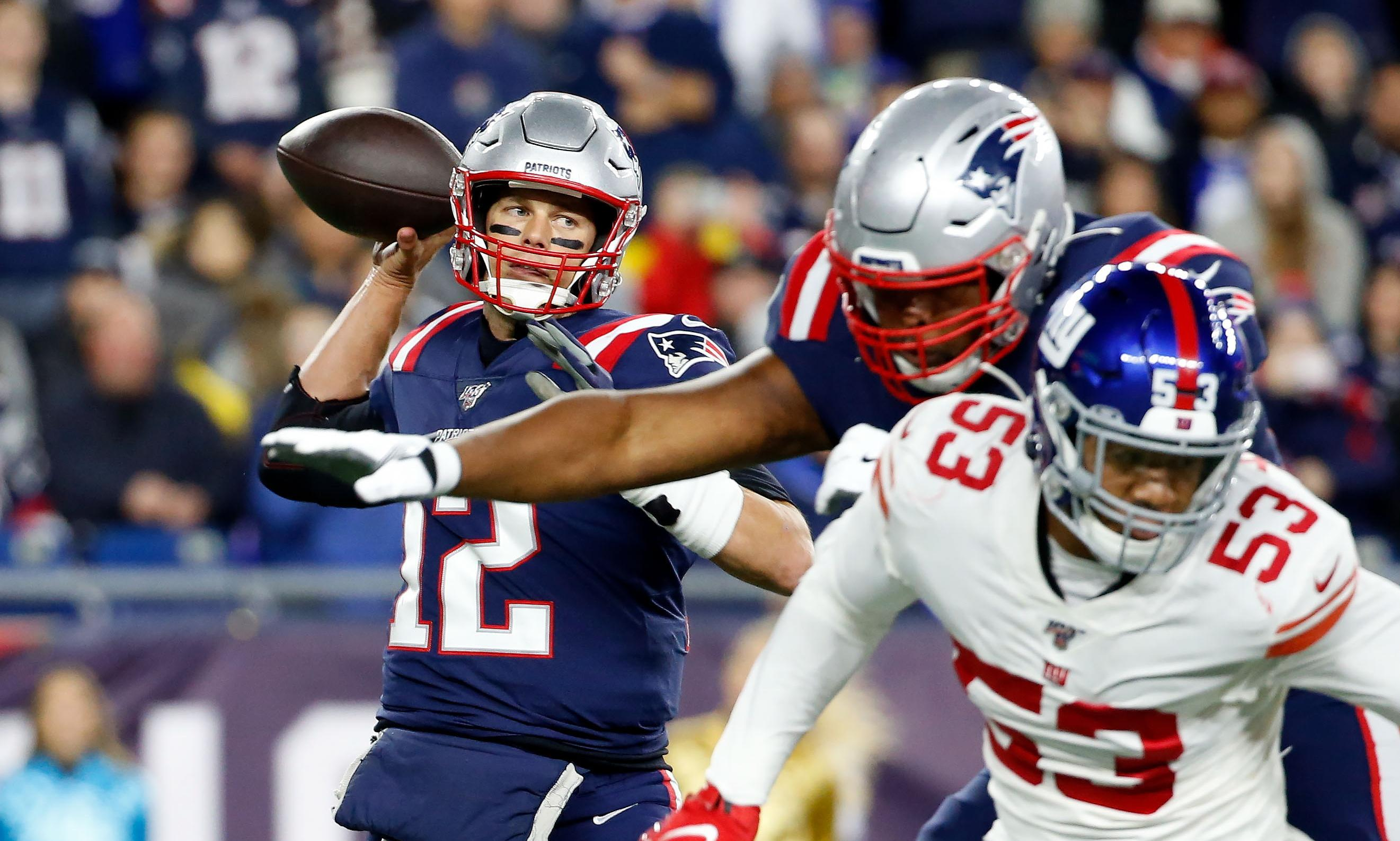 New England Patriots' dominant defense tames Giants to stay unbeaten