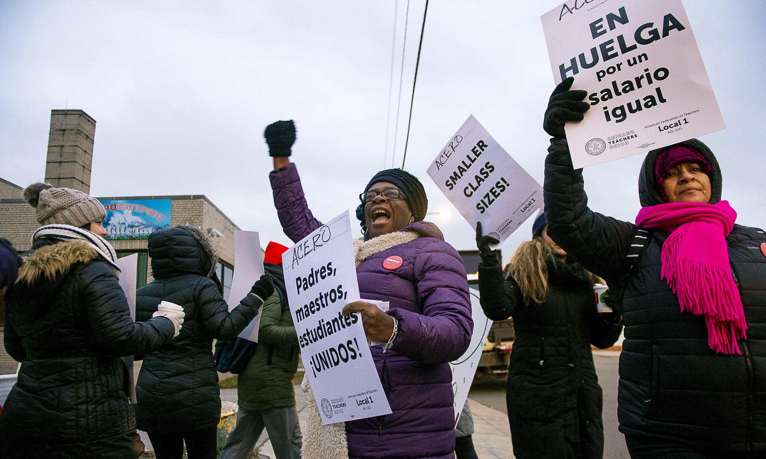 Why a historic strike by Chicago charter school teachers matters