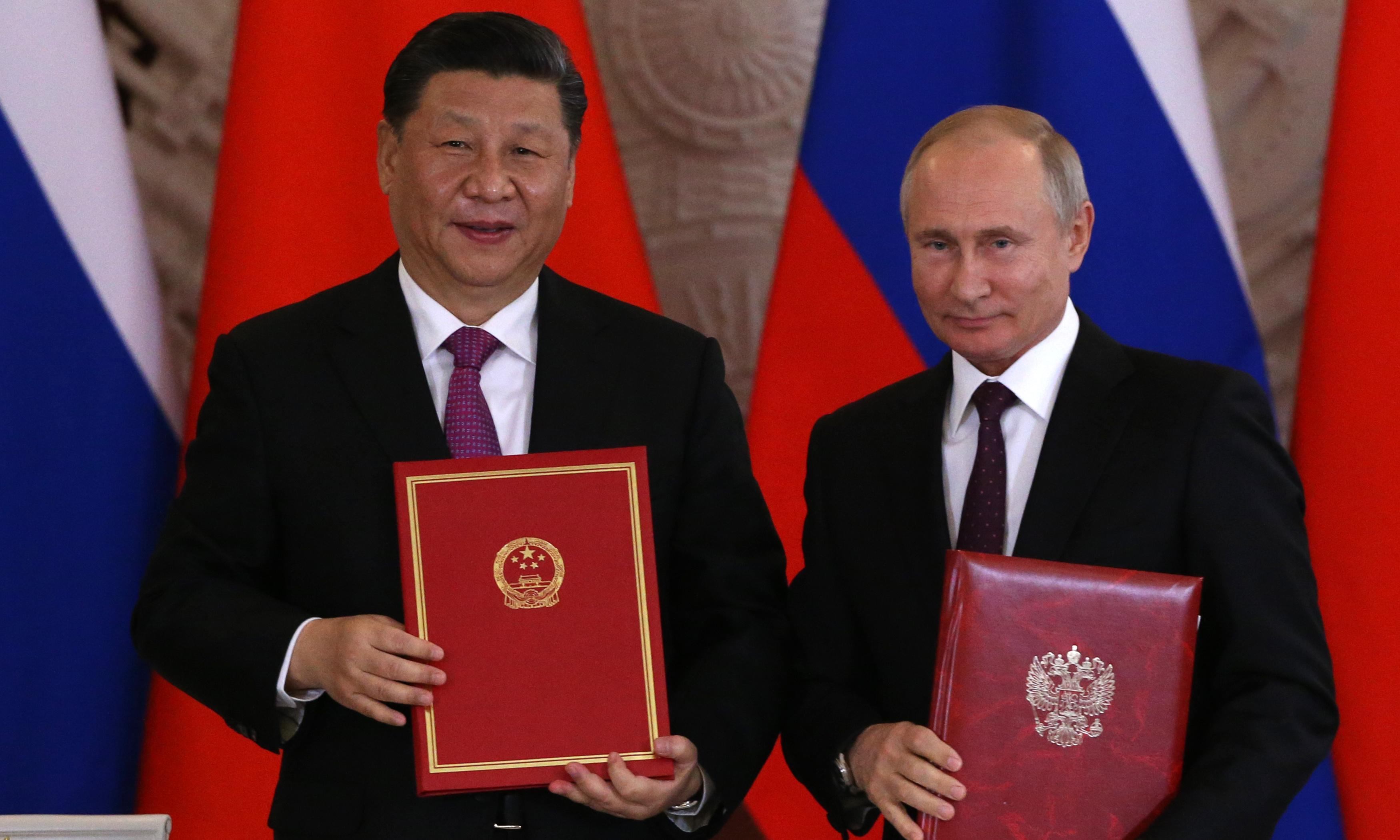 China's Huawei signs deal to develop 5G network in Russia