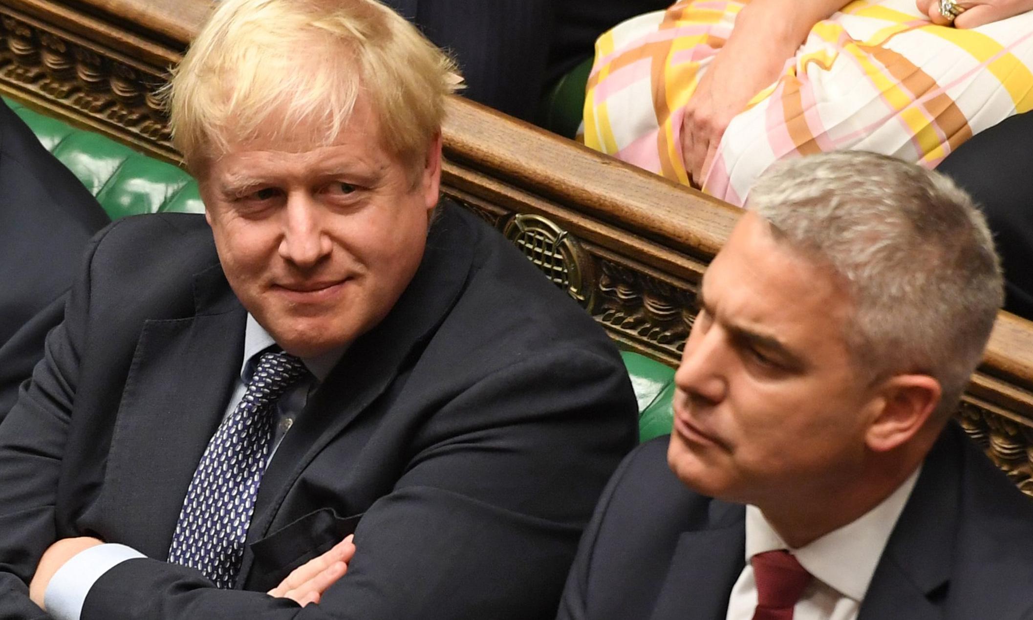 Boris Johnson tries to unhappen Saturday with sociopathic unreasoning