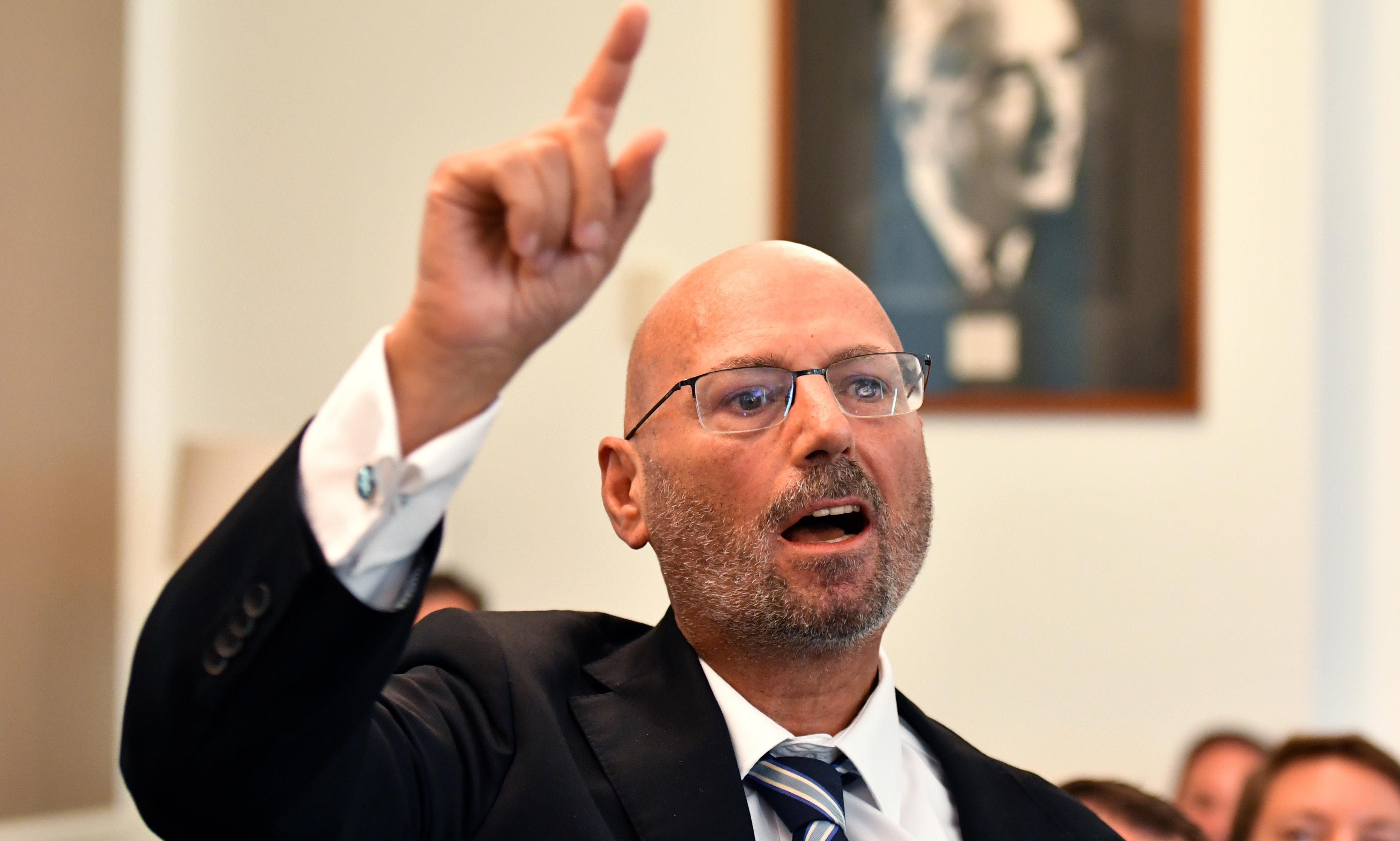 Arthur Sinodinos urges Liberals to use renewables to boost environmental credentials