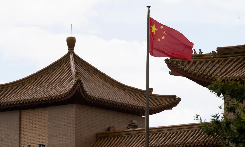 The Chinese embassy in Canberra