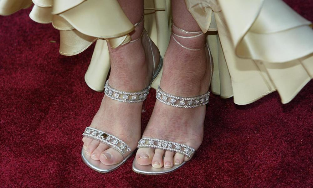 A Jimmy Choo red carpet moment at the Oscars in 2004.